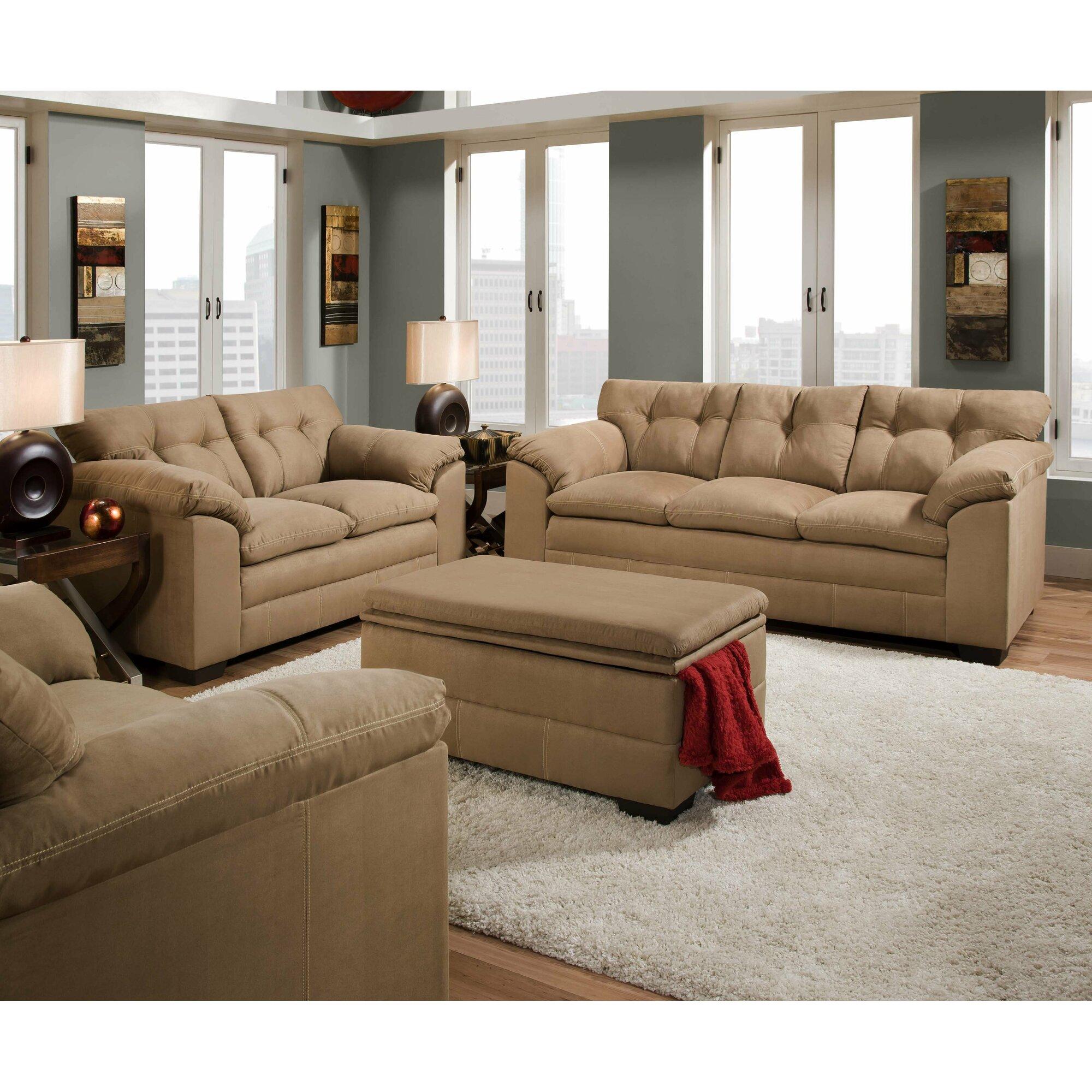 Simmons Upholstery Velocity Sofa & Reviews