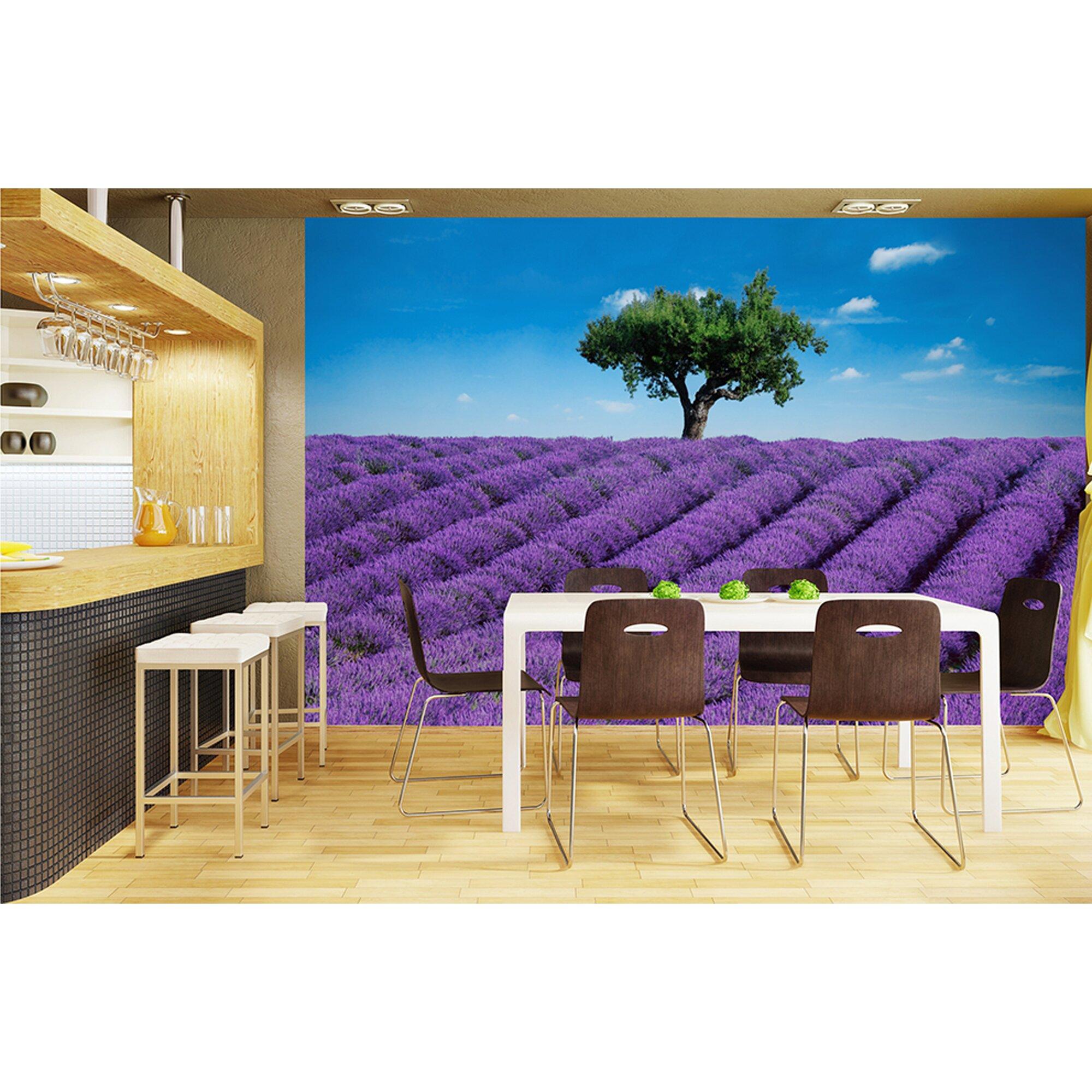 28 ideal decor wall murals ideal decor moscow twilight wall brewster home fashions ideal decor provence wall mural wayfair ca