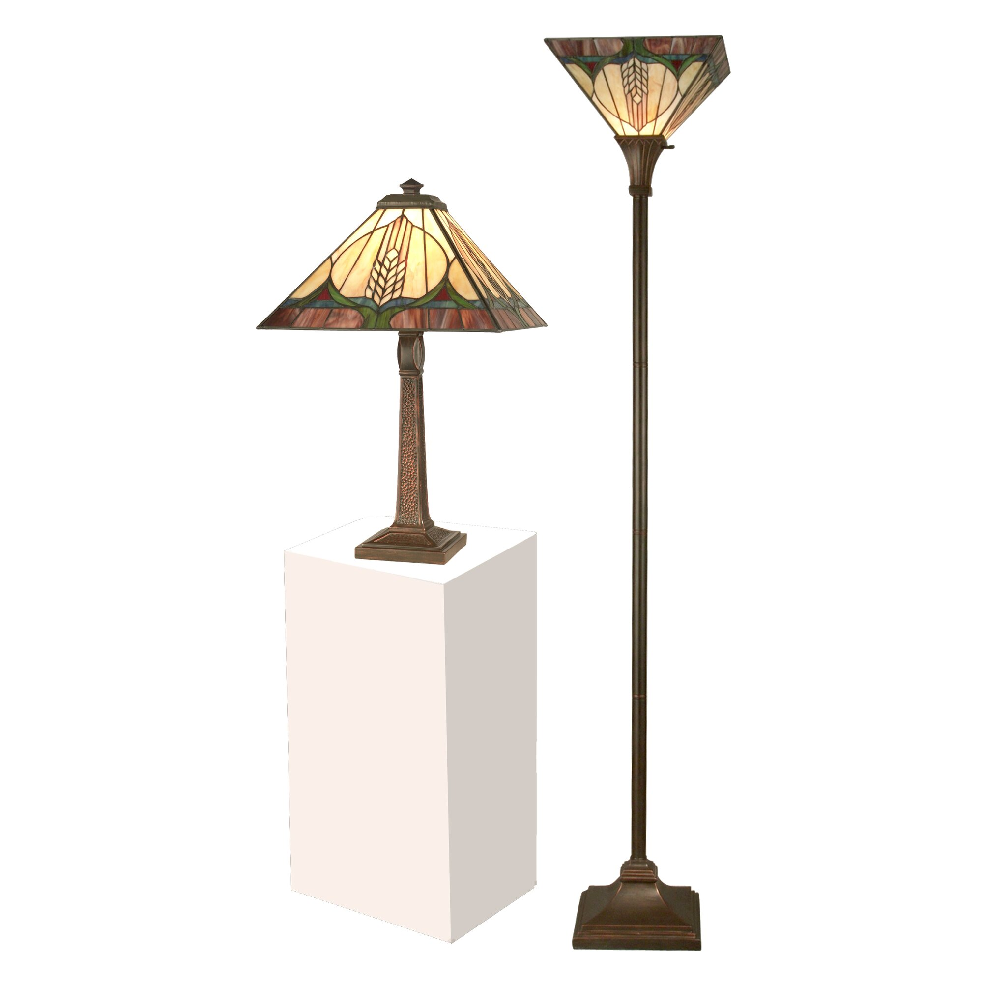 Floor And Table Lamp Sets