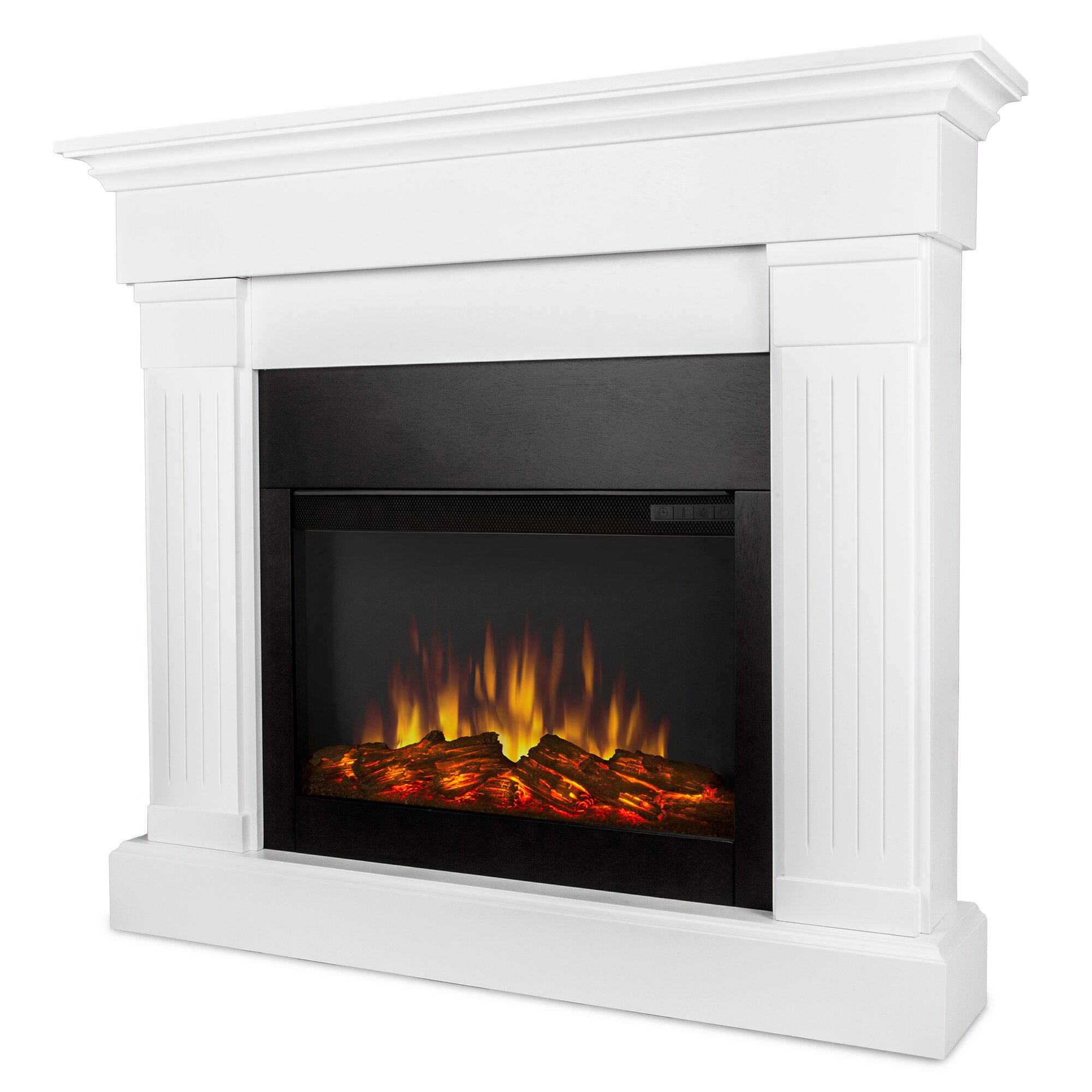 Real Flame Slim Crawford Wall Mount Electric Fireplace
