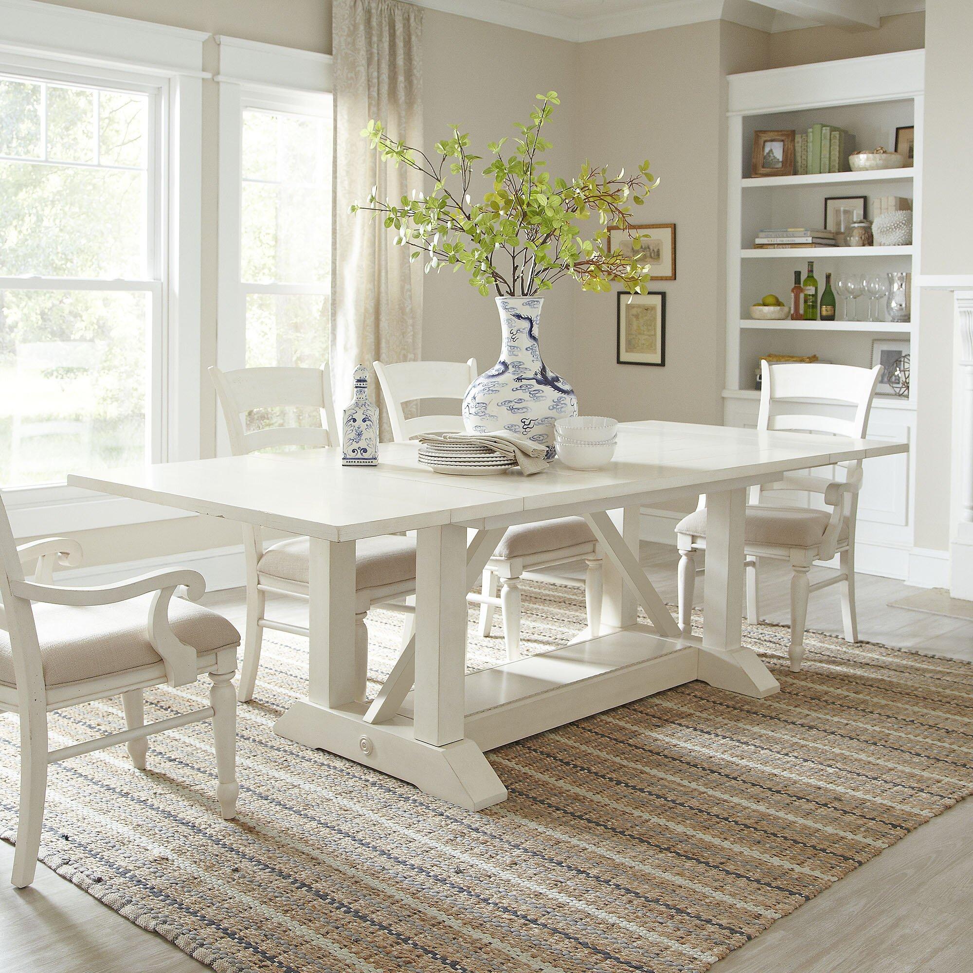 Birch Lane™ Lisbon Extendable Dining Table & Reviews   Wayfair