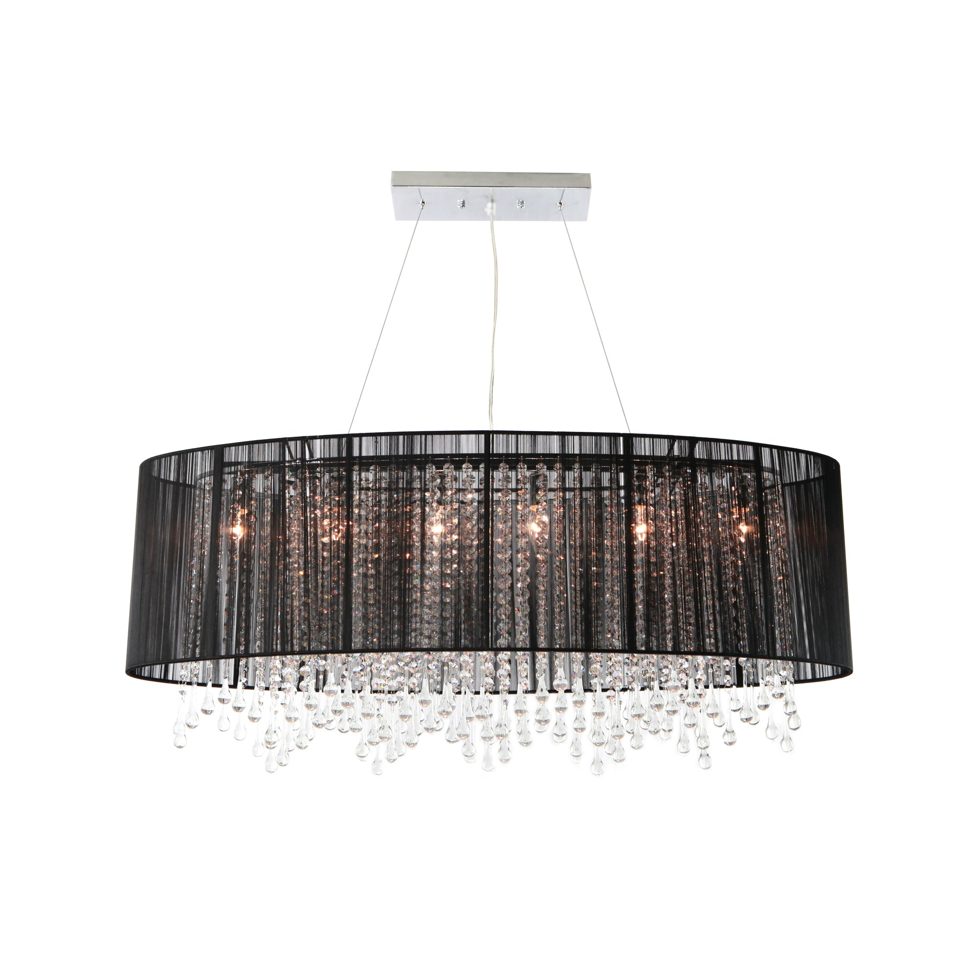 Avenue Lighting Beverly Drive Light Kitchen Island Pendant -  fort lauderdale bathroom mirror light