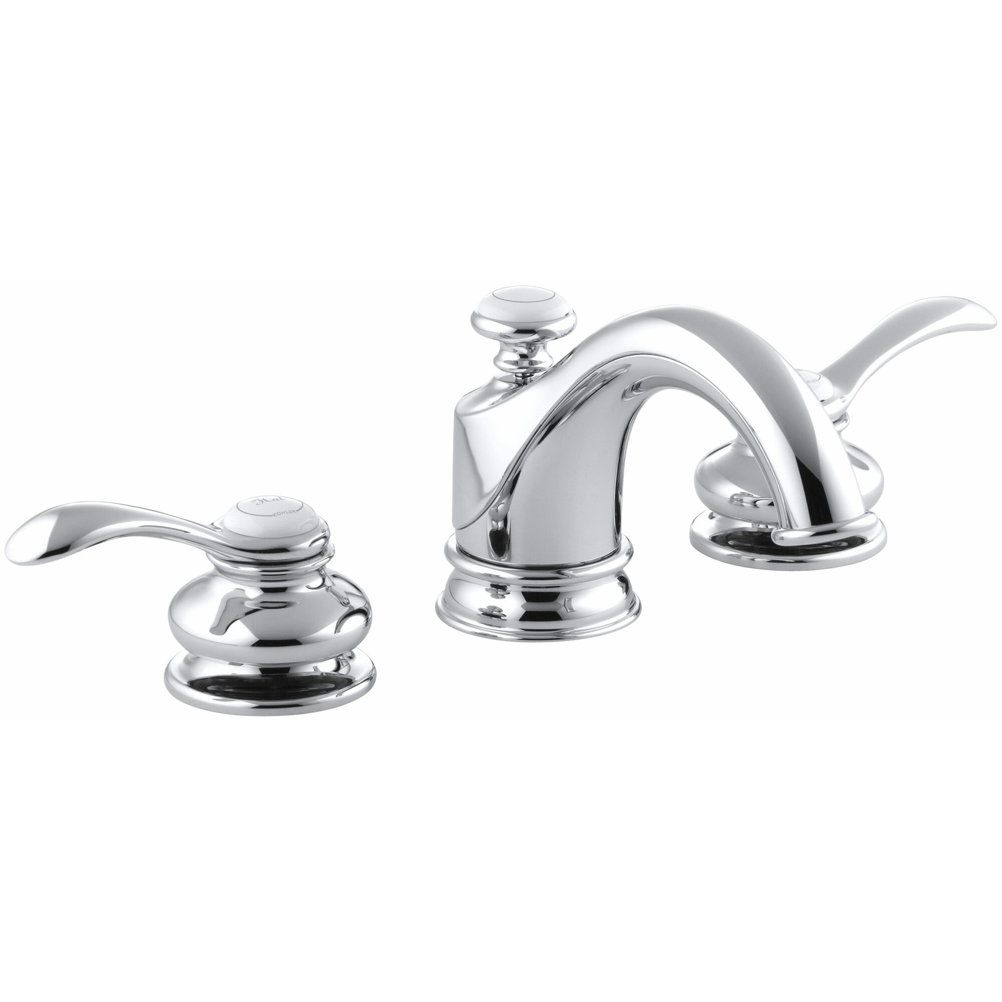 Exira Widespread Bathroom Fauceta Straightforward Design The Faucet Is An Ideal Plement To Any Style