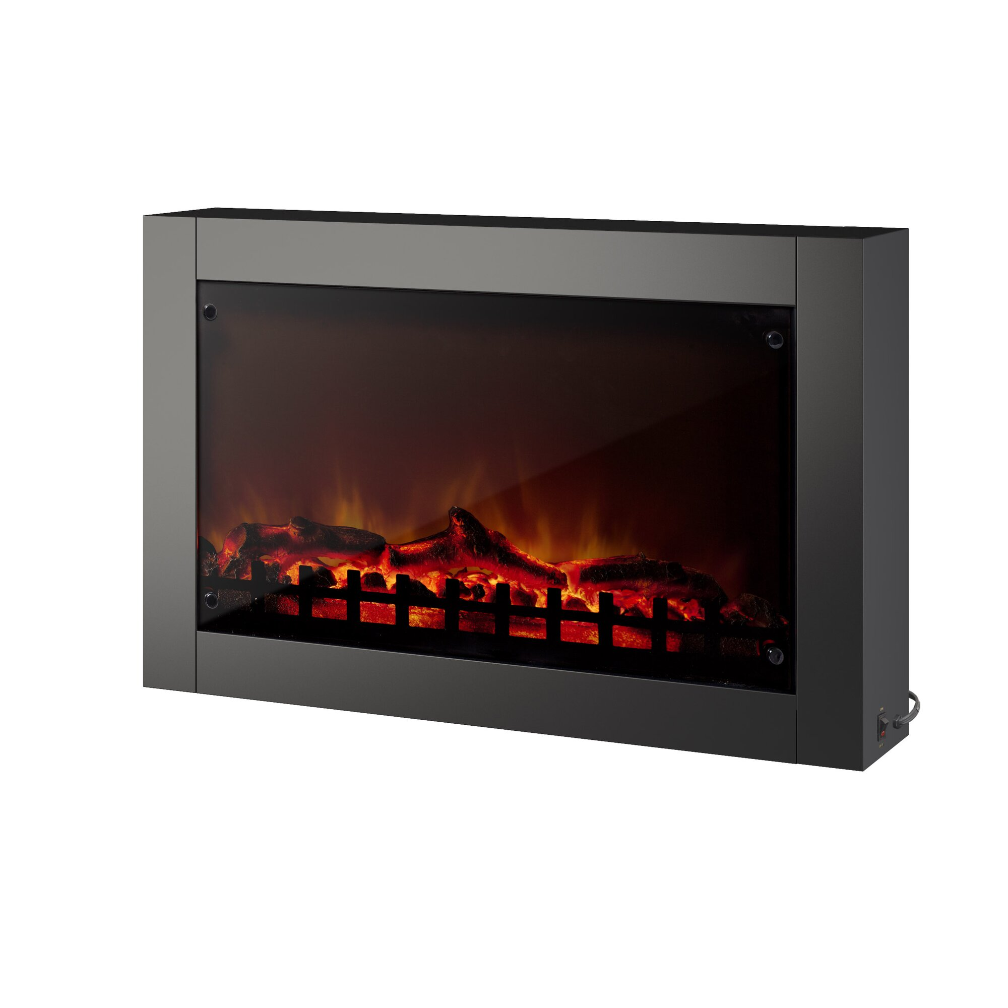 wall mount electric fireplace corliving wall mount electric fireplace amp reviews wayfair 12761