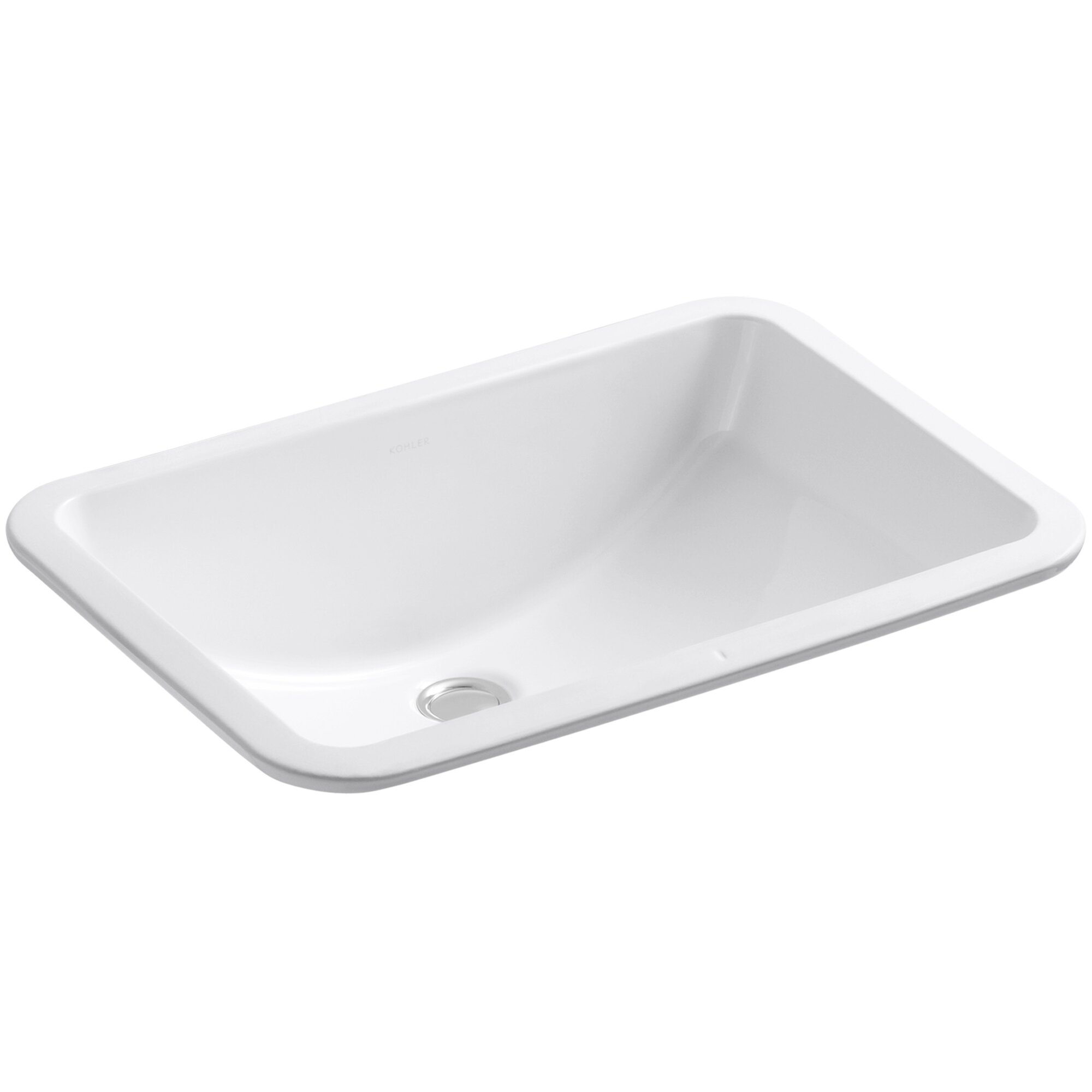 Bathroom sink dimensions mm - Ladena Rectangular Undermount Bathroom Sink