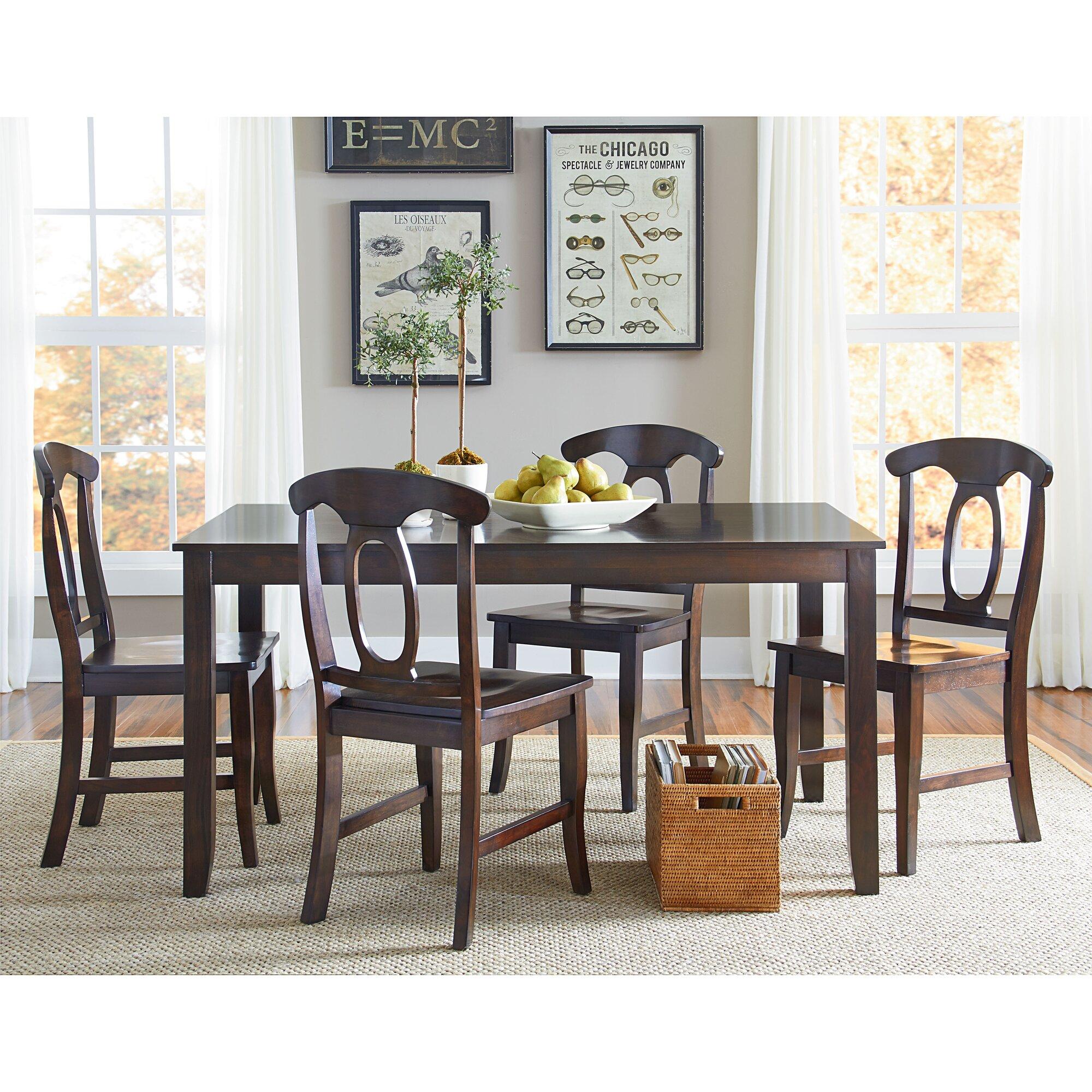 Standard Furniture Larkin 5 Piece Dining Set & Reviews | Wayfair