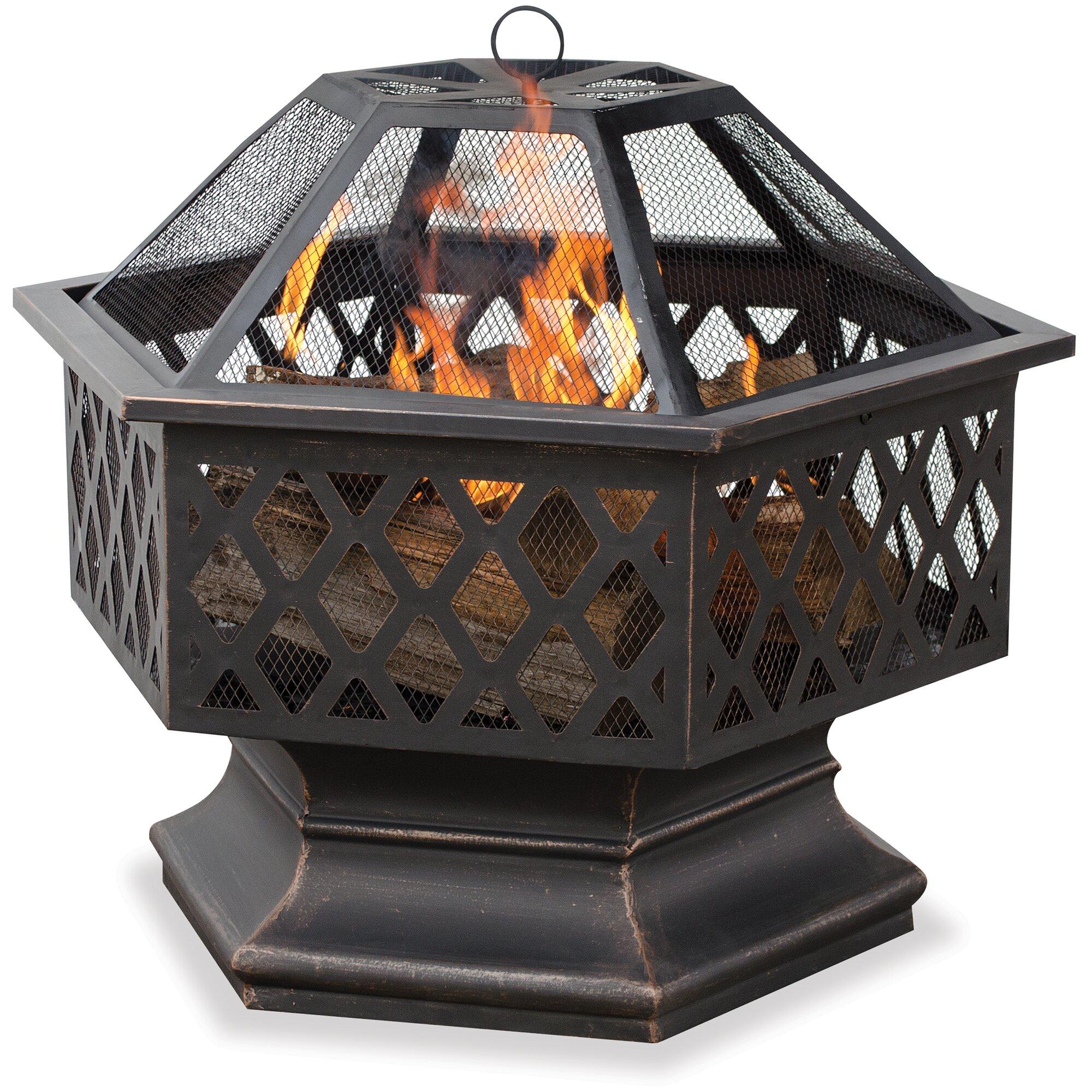 blacksmith custom designed fireplace log holder hand forged steel