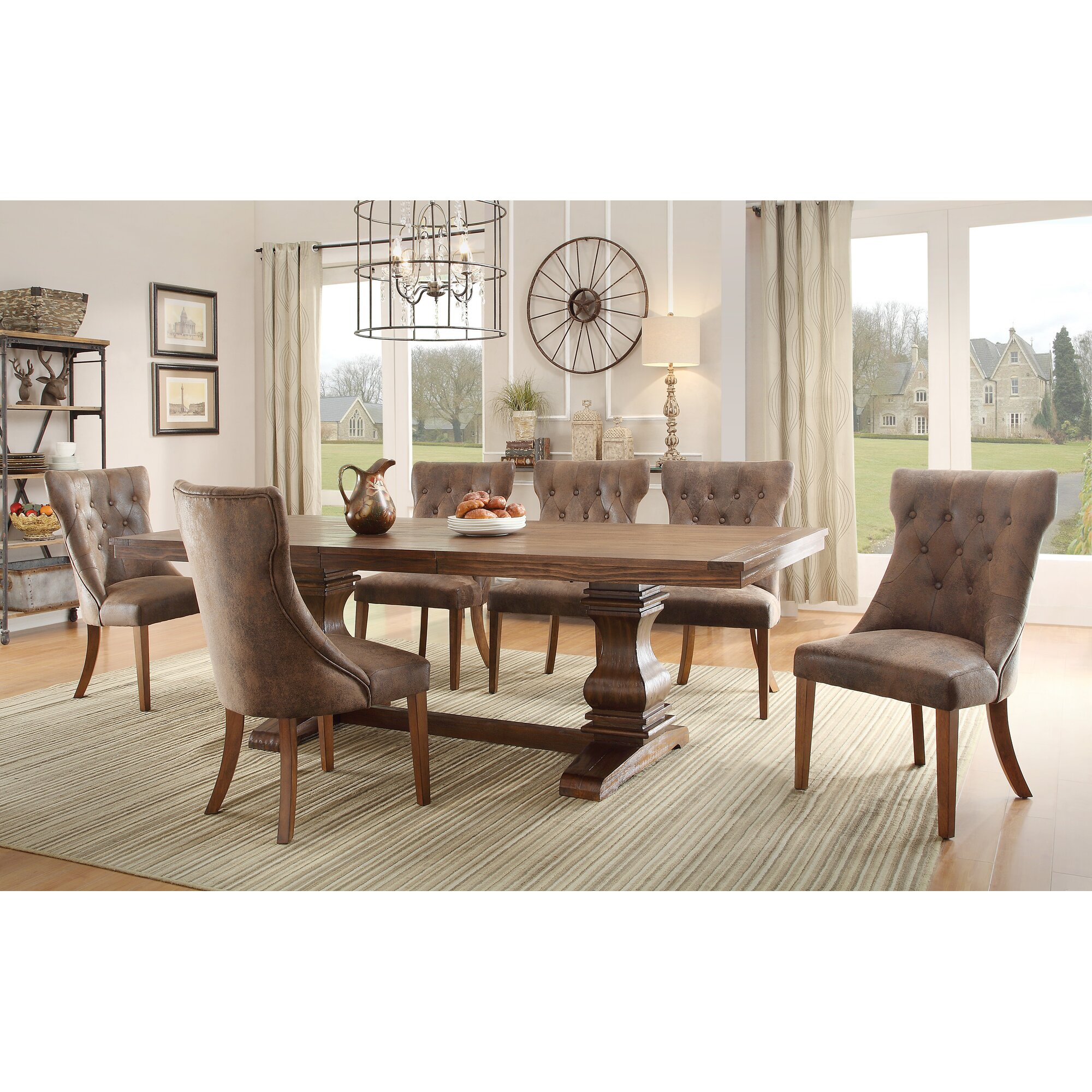 August Grove Elton Extendable Dining Table & Reviews | Wayfair