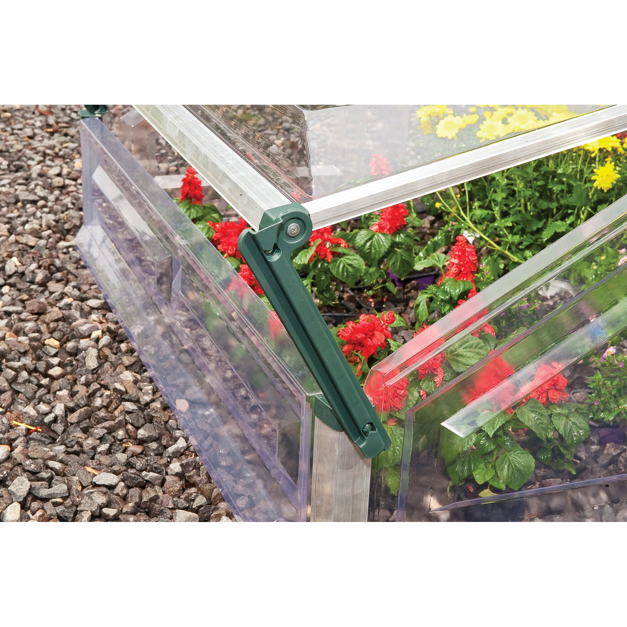 palram 3 5 ft w x 3 5 ft d cold frame greenhouse. Black Bedroom Furniture Sets. Home Design Ideas