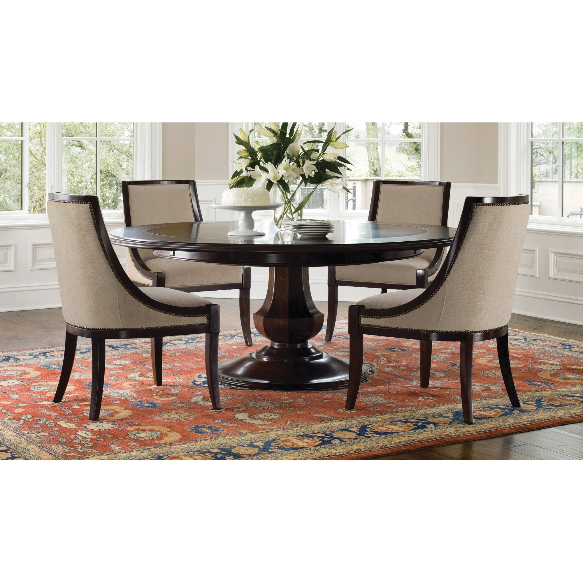 BrownstoneFurniture Sienna Extendable Dining Table & Reviews | Wayfair