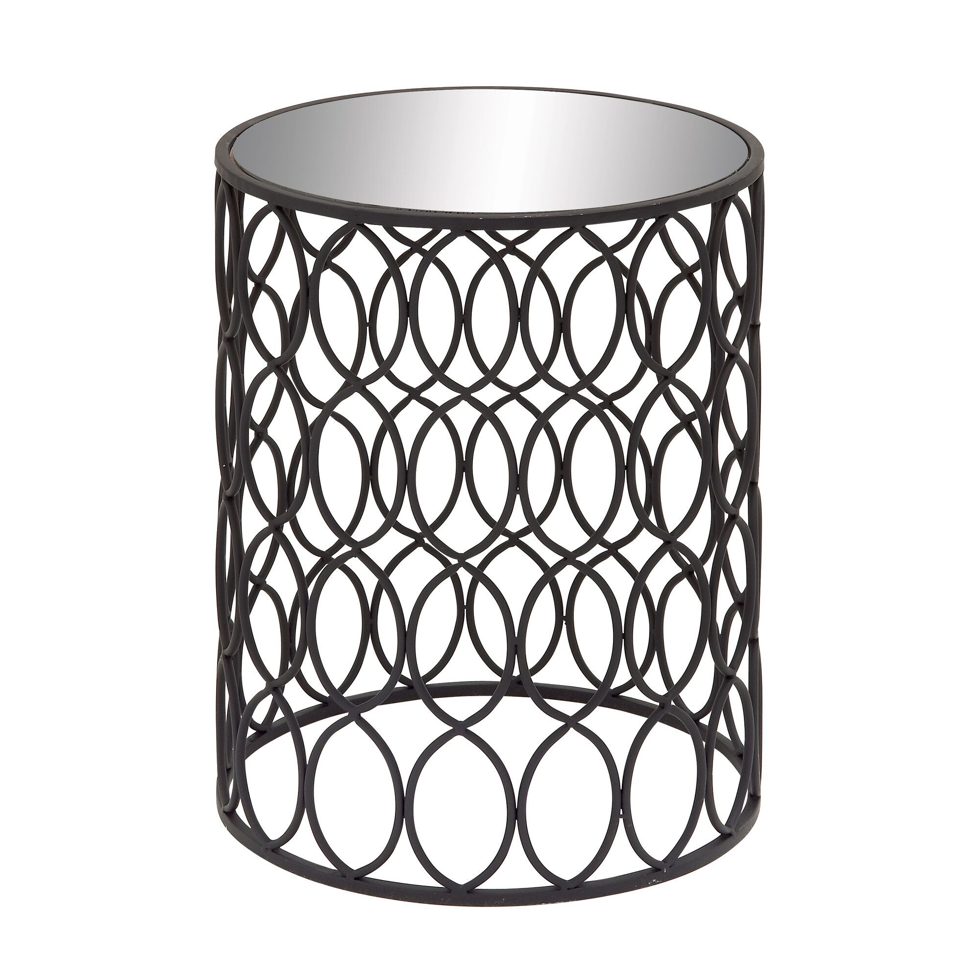 Woodland imports beautiful end table reviews wayfair for Beautiful end tables