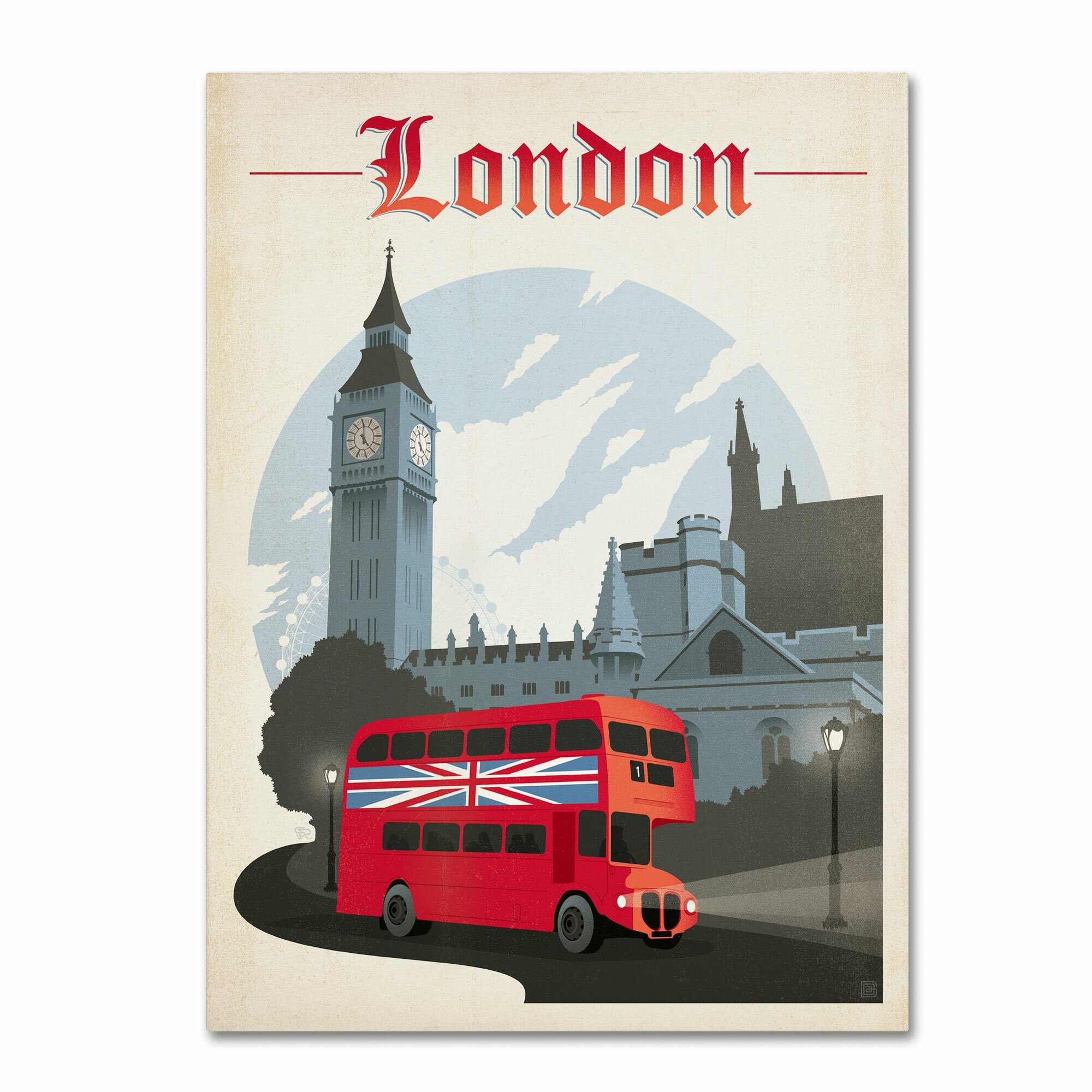 Trademark art london england by anderson design group for London design group