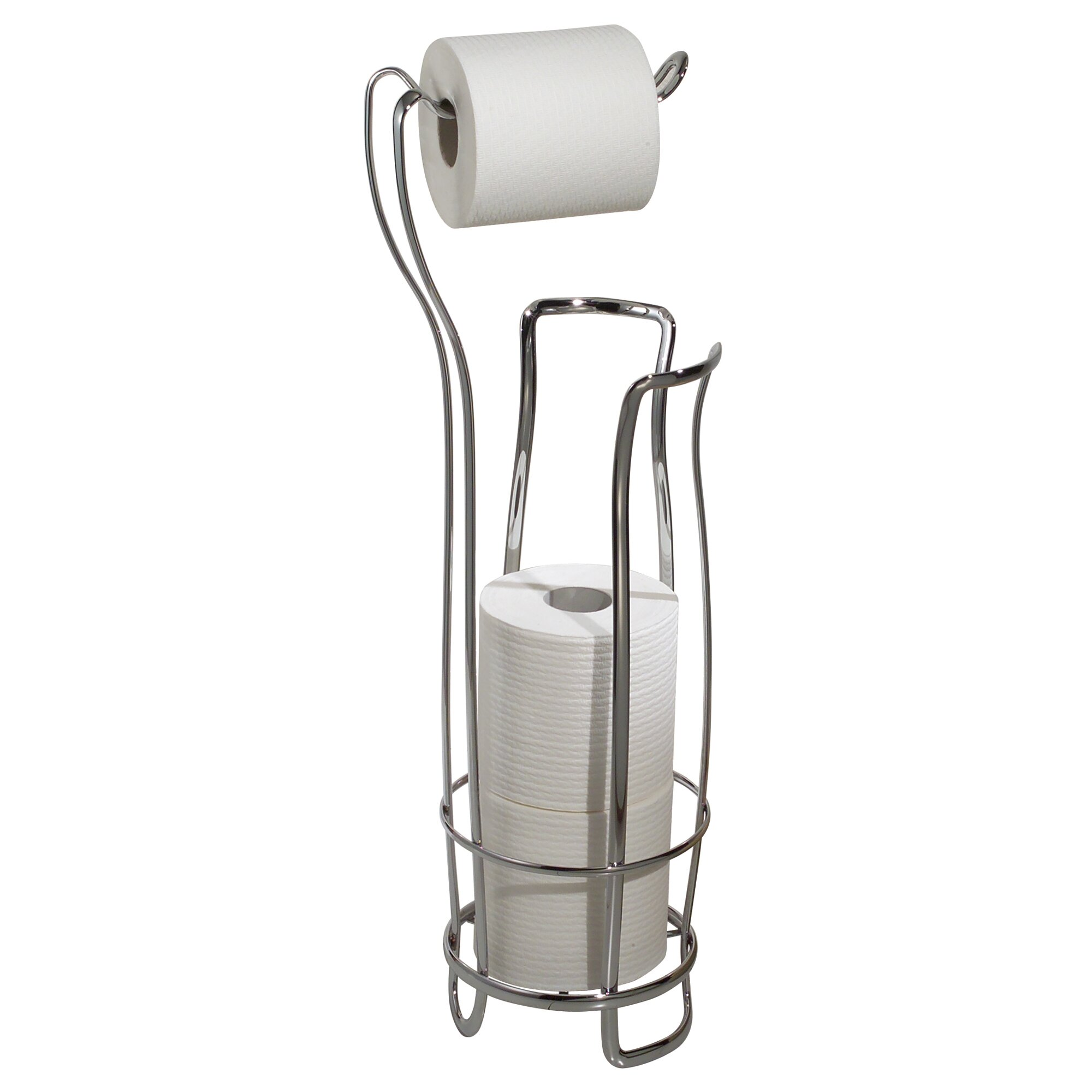 InterDesign Toilet Paper Holder and Reserve & Reviews