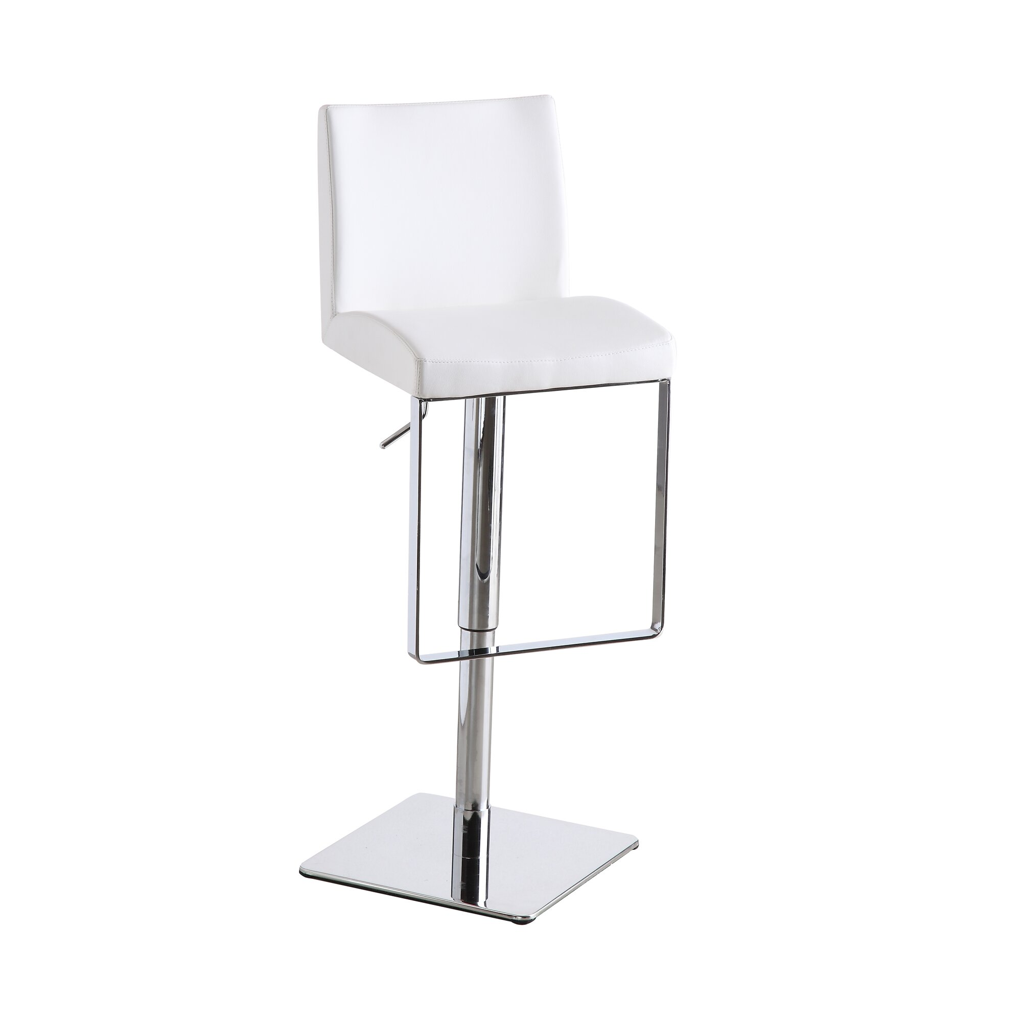 Harlow Adjustable Height Swivel Bar Stool Amp Reviews