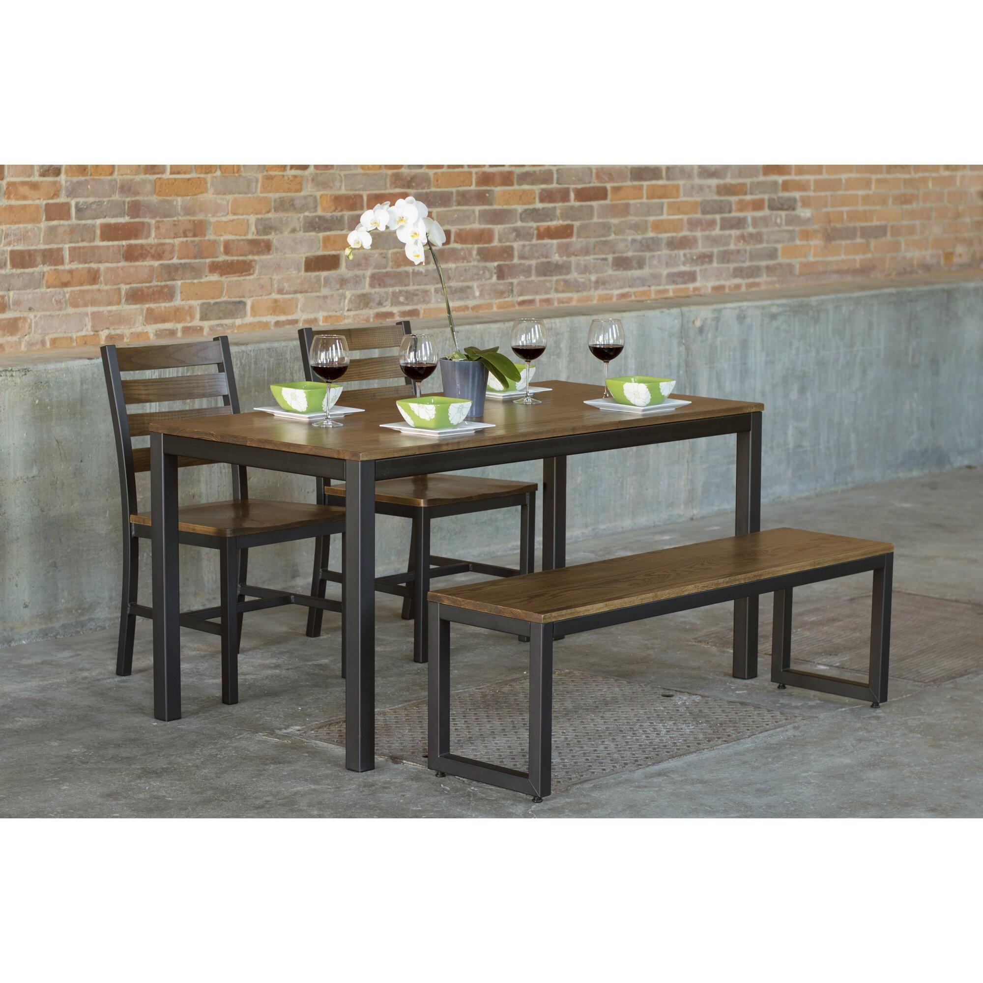 Elan furniture loft piece dining set wayfair