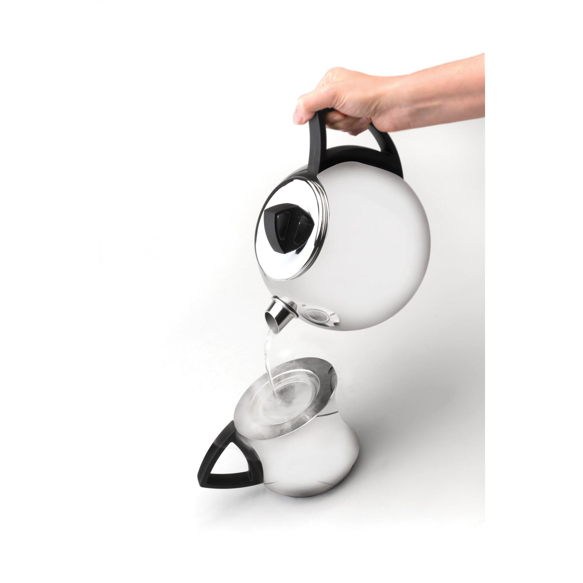 Berghoff zeno 3 piece 2 2 qt teapot set reviews wayfair for Zeno kitchen set