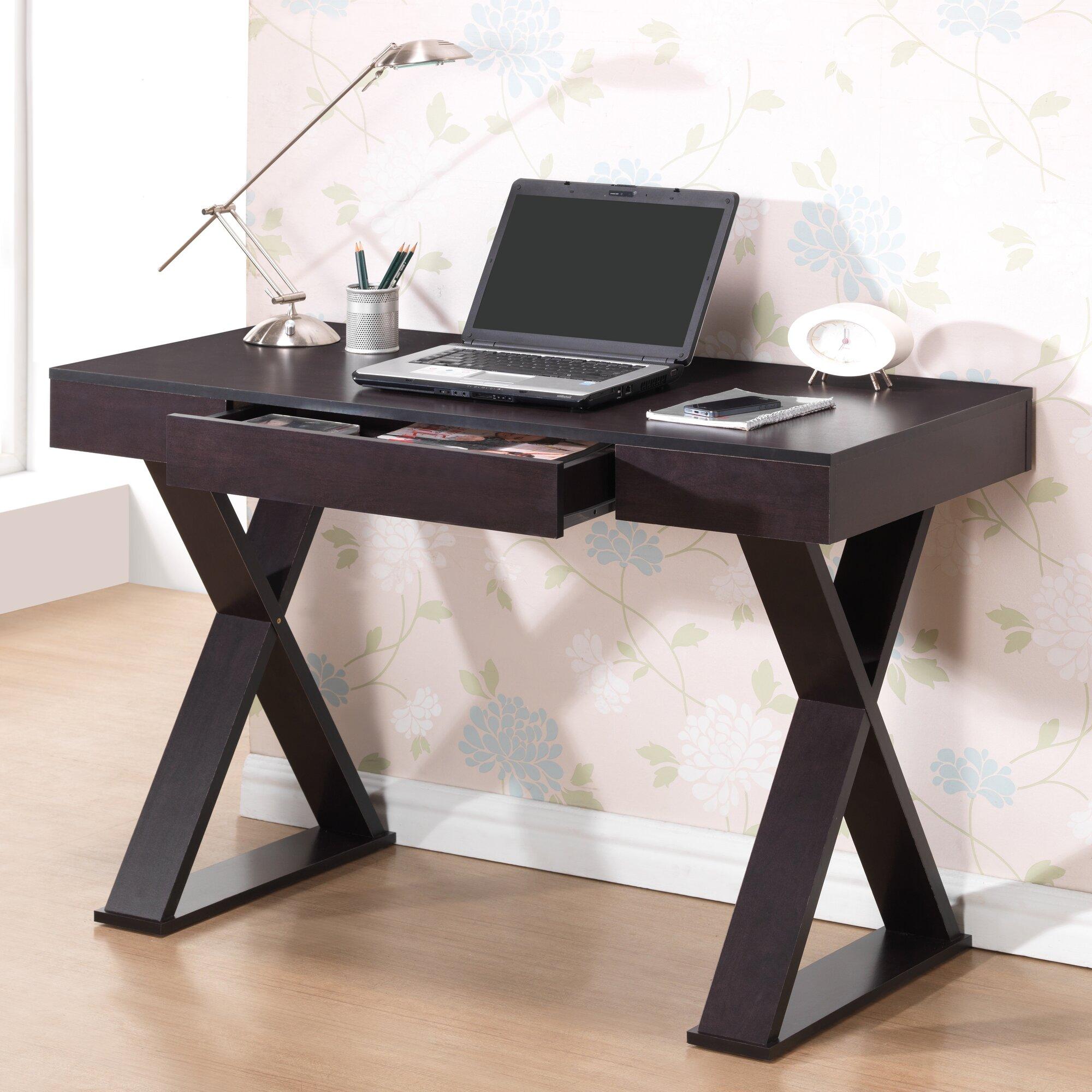 Trendy Desk Supplies: Techni Mobili Trendy Writing Desk & Reviews
