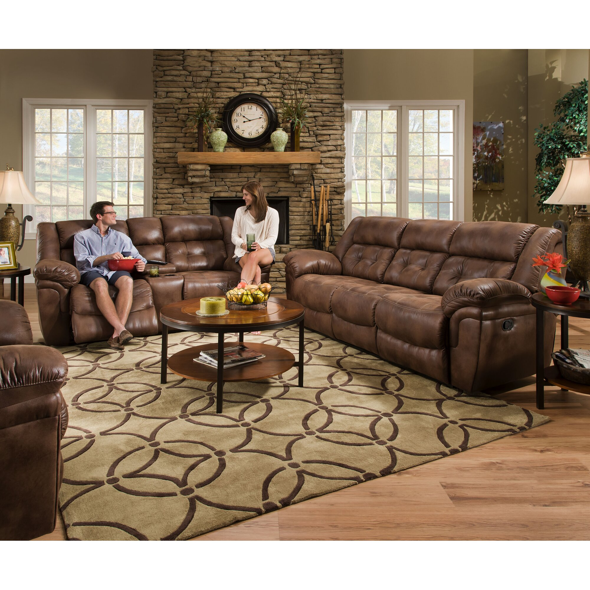 Simmons Upholstery Wisconsin Beautyrest Motion Reclining
