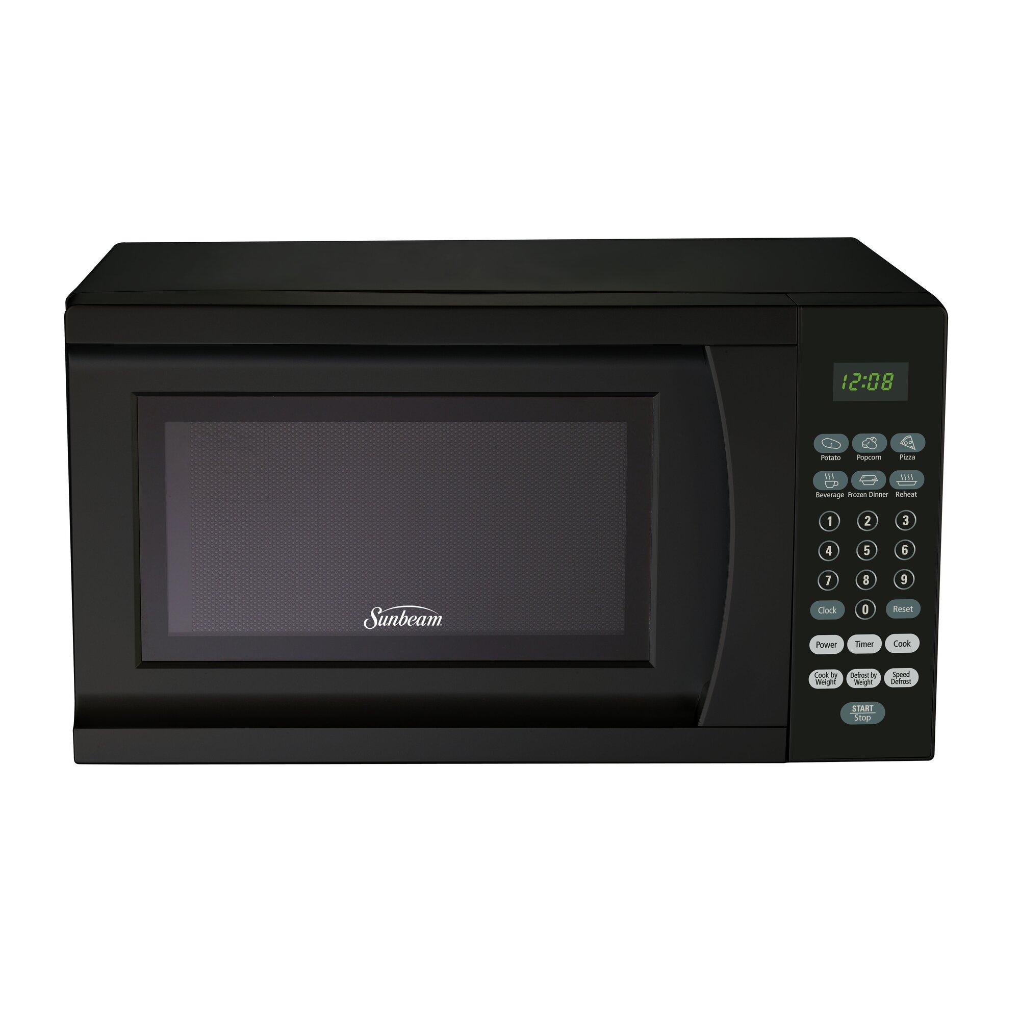 18 0 7 Cu Ft Countertop Microwave