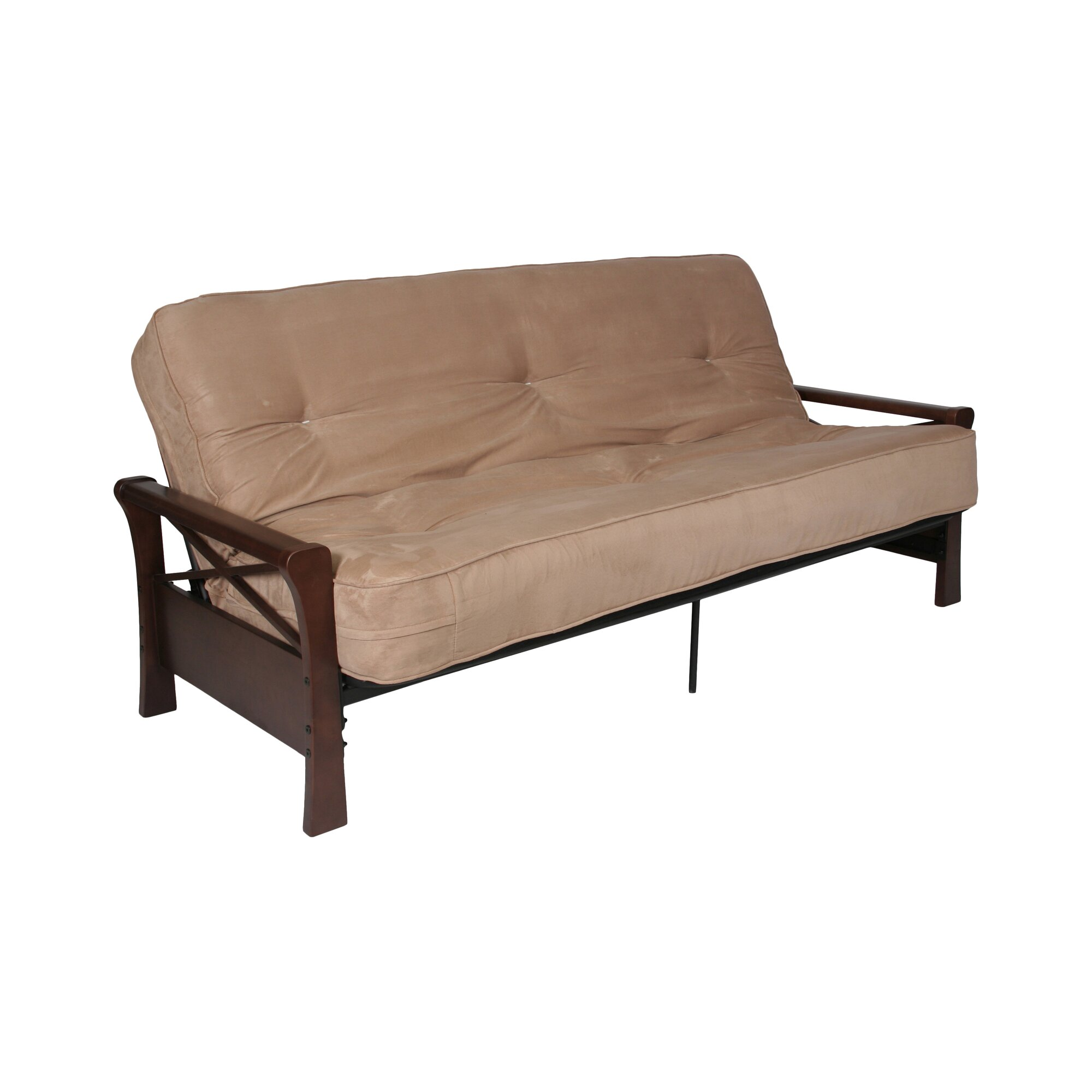 DHP X Wood Arm for Futon & Reviews | Wayfair