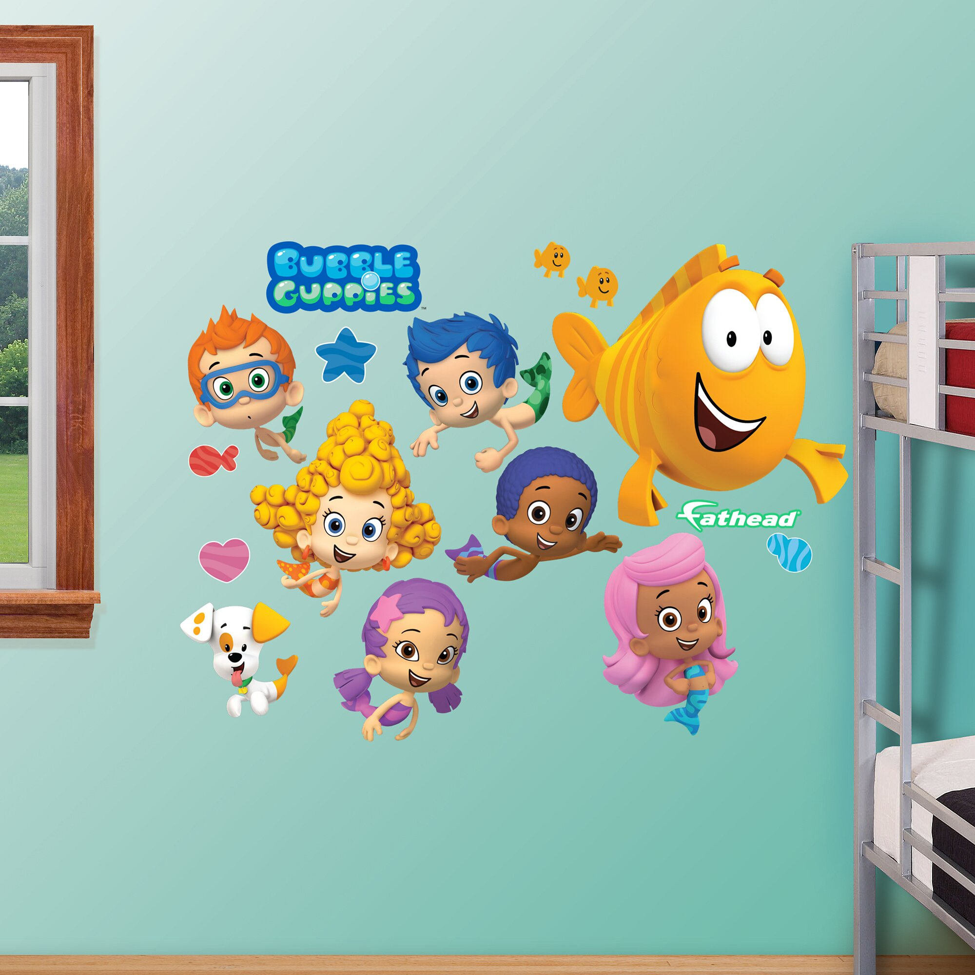 Fathead Realbig Nickelodeon Bubble Guppies Wall Decal Reviews Wayfair