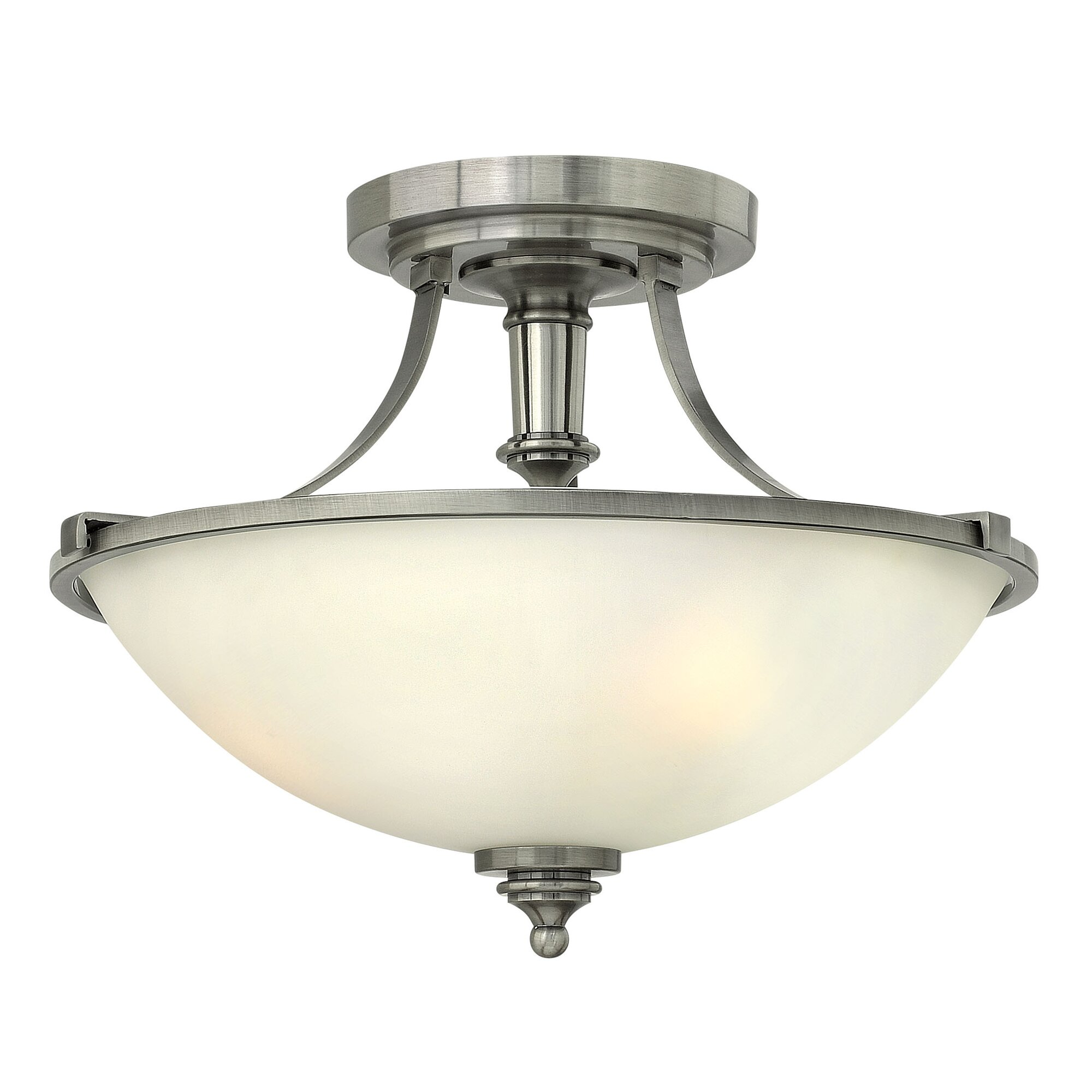 Foyer Semi Flush Mount Lighting : Hinkley lighting truman light semi flush mount foyer