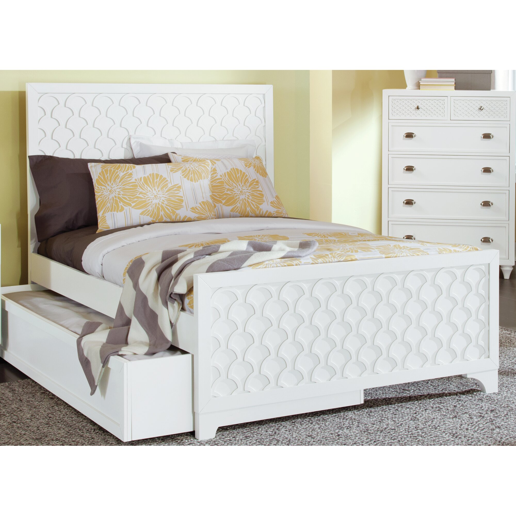 My home furnishings amanda 6 drawer chest reviews wayfair for Find home furnishings