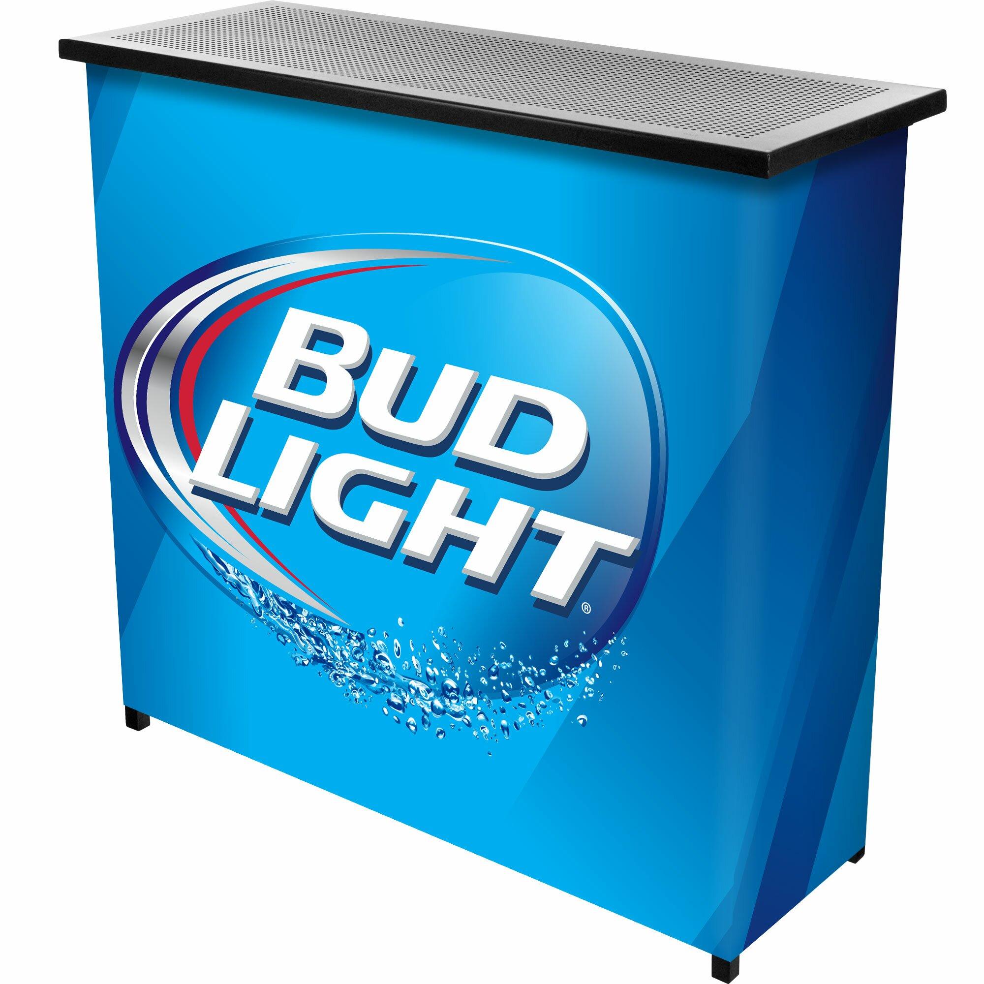 Trademark Global Budweiser Bud Light Bar Amp Reviews Wayfair