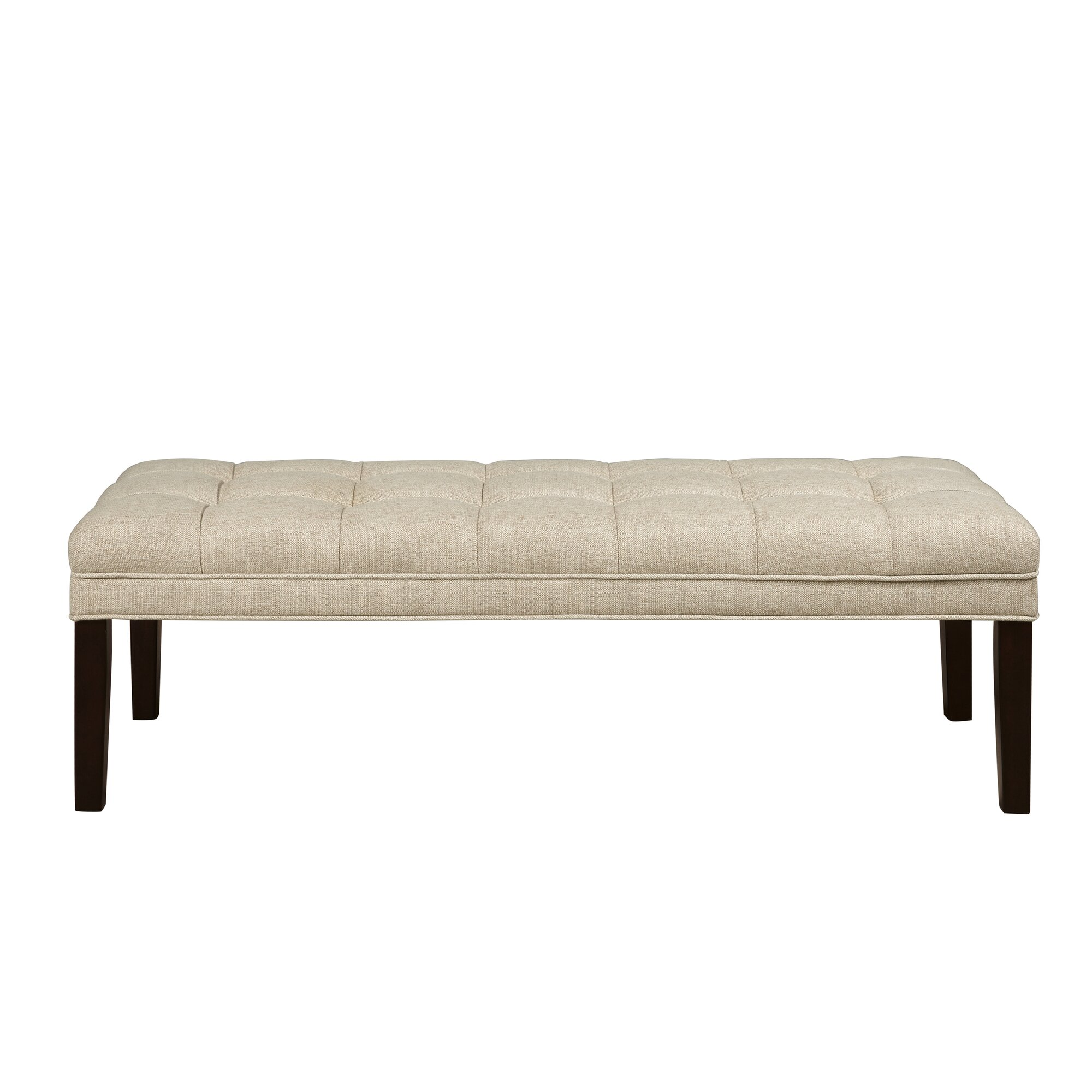 Bedroom bench dimensions - Upholstered Tufted Bedroom Bench