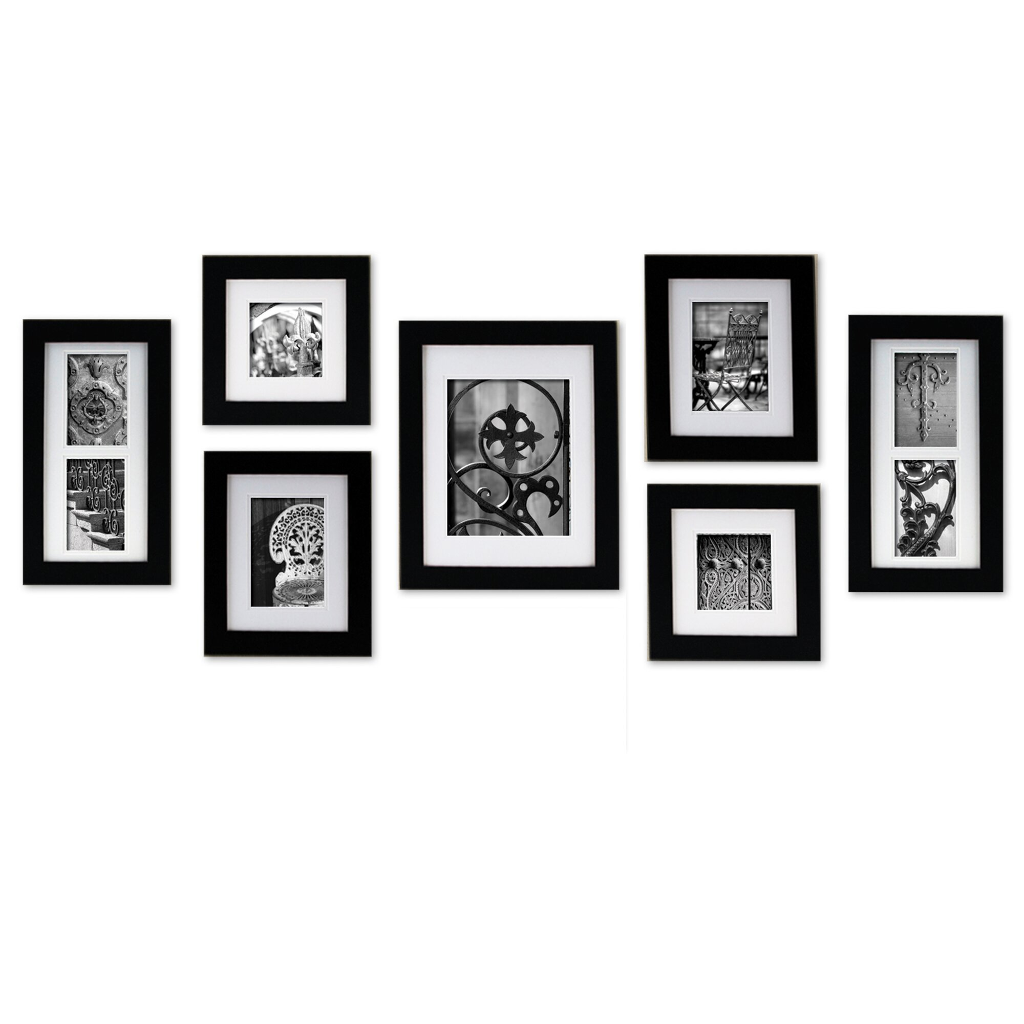 Nielsenbainbridge Gallery Perfect 7 Piece Create A Gallery