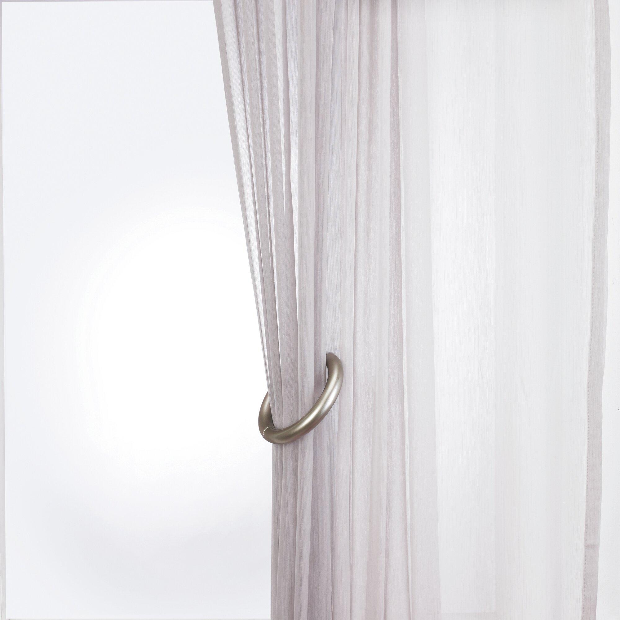 Curtain Holdbacks Poise Holdback Set Of 2 Oak