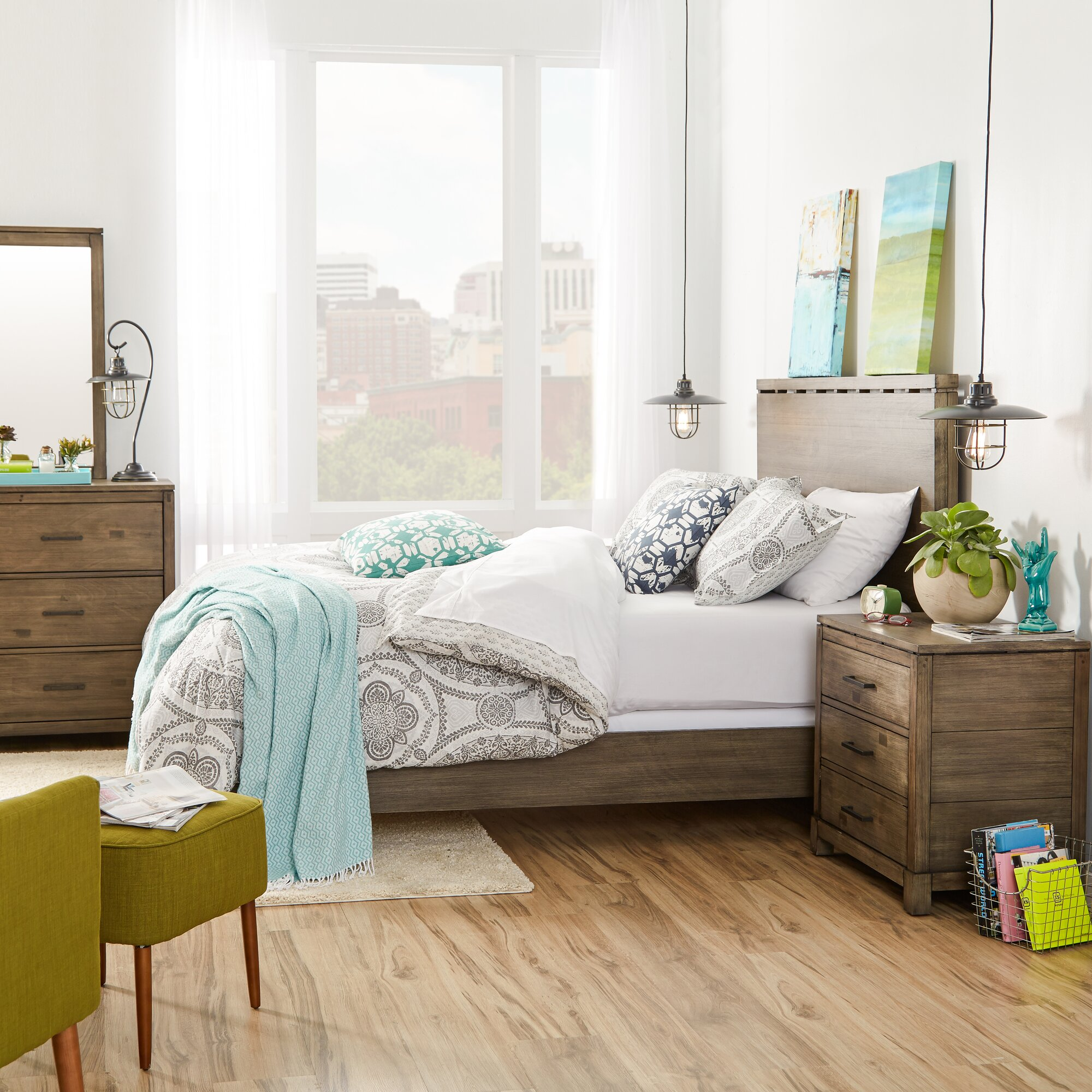 Pax Platform Customizable Bedroom Set