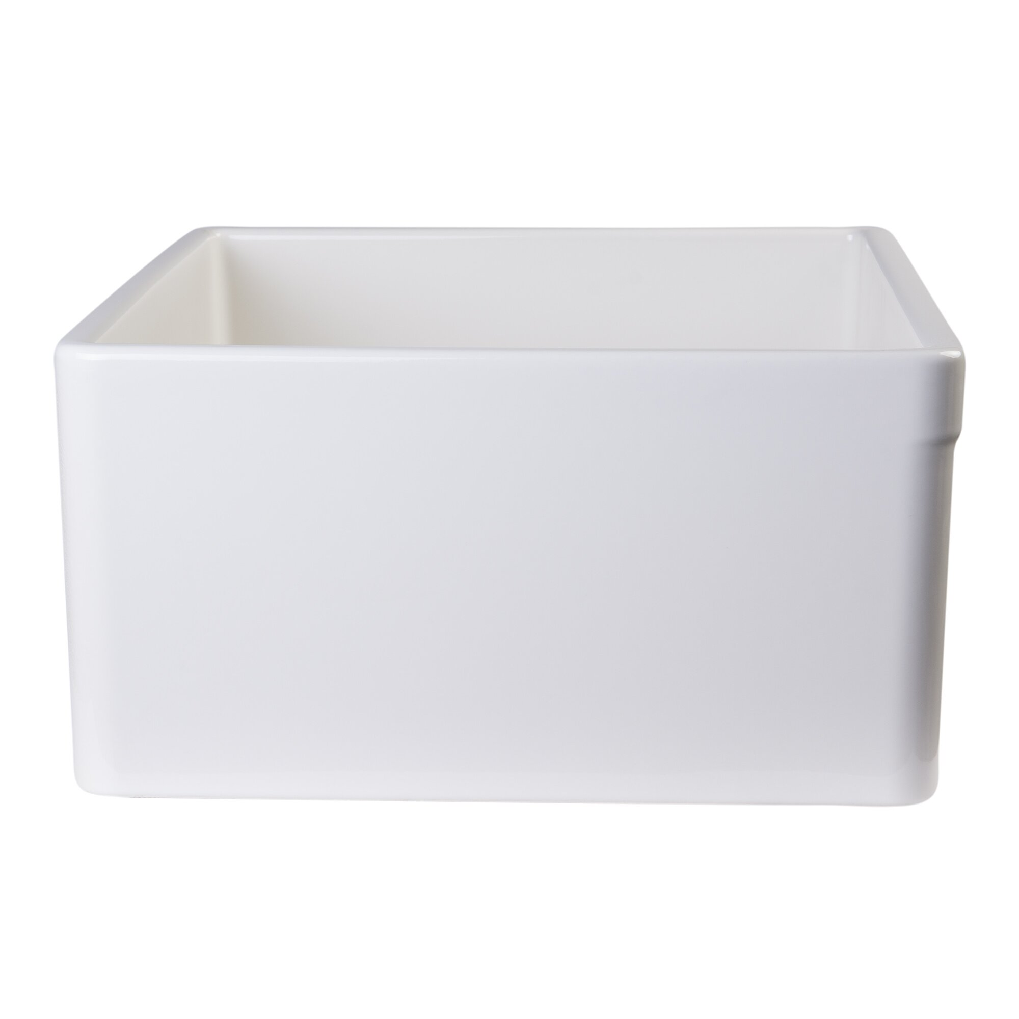 Alfi Brand   X   Single Bowl Farmhouse Kitchen Sink