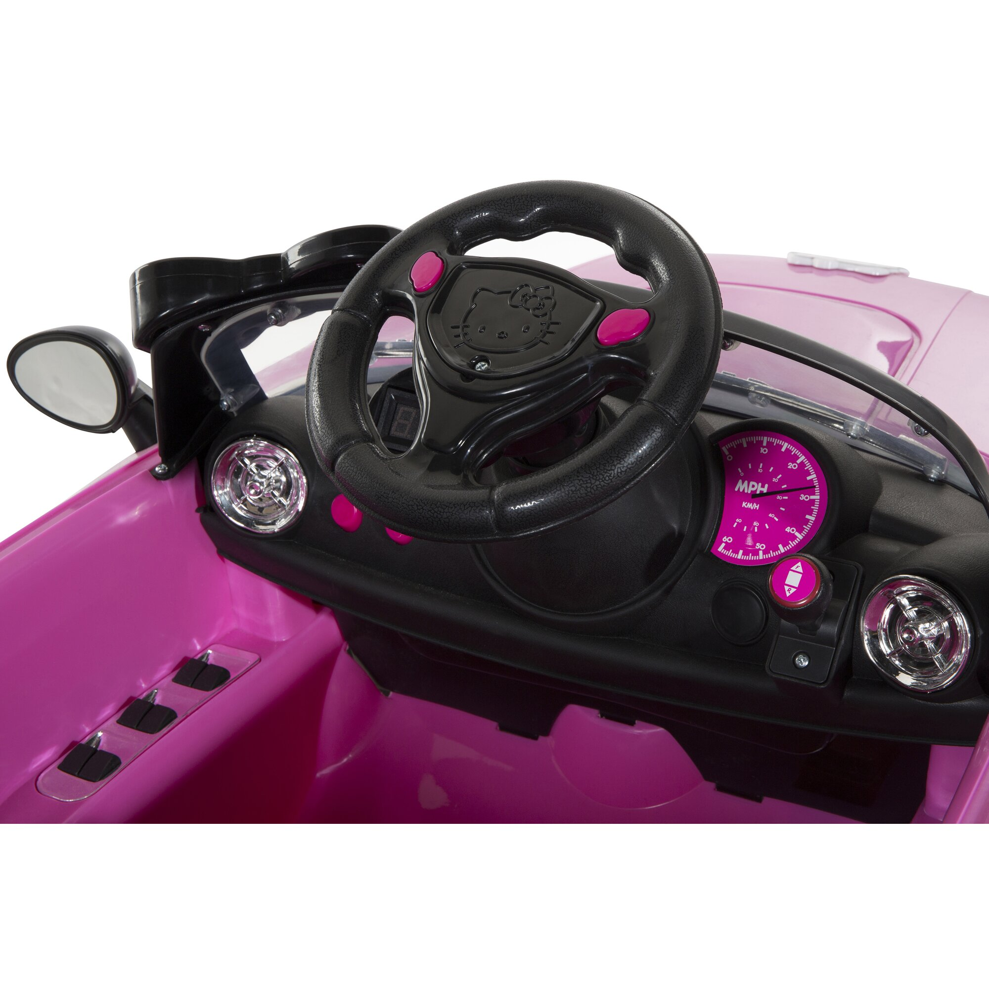 Hello Kitty Car V Battery Powered Ride On Car