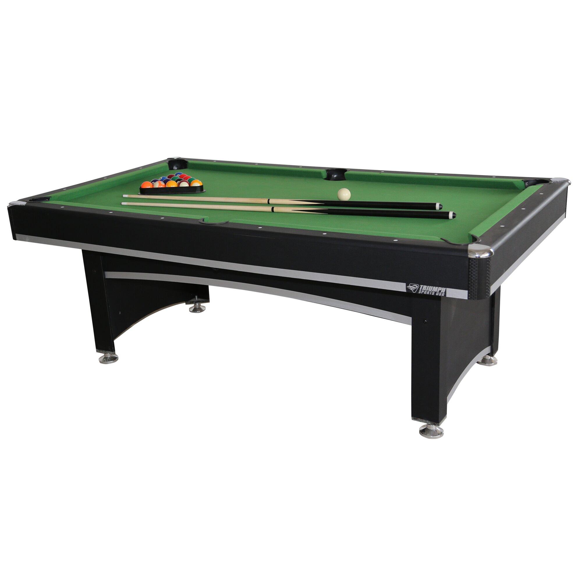 Triumph Sports USA Phoenix Billiard Table with Table Tennis Top ...