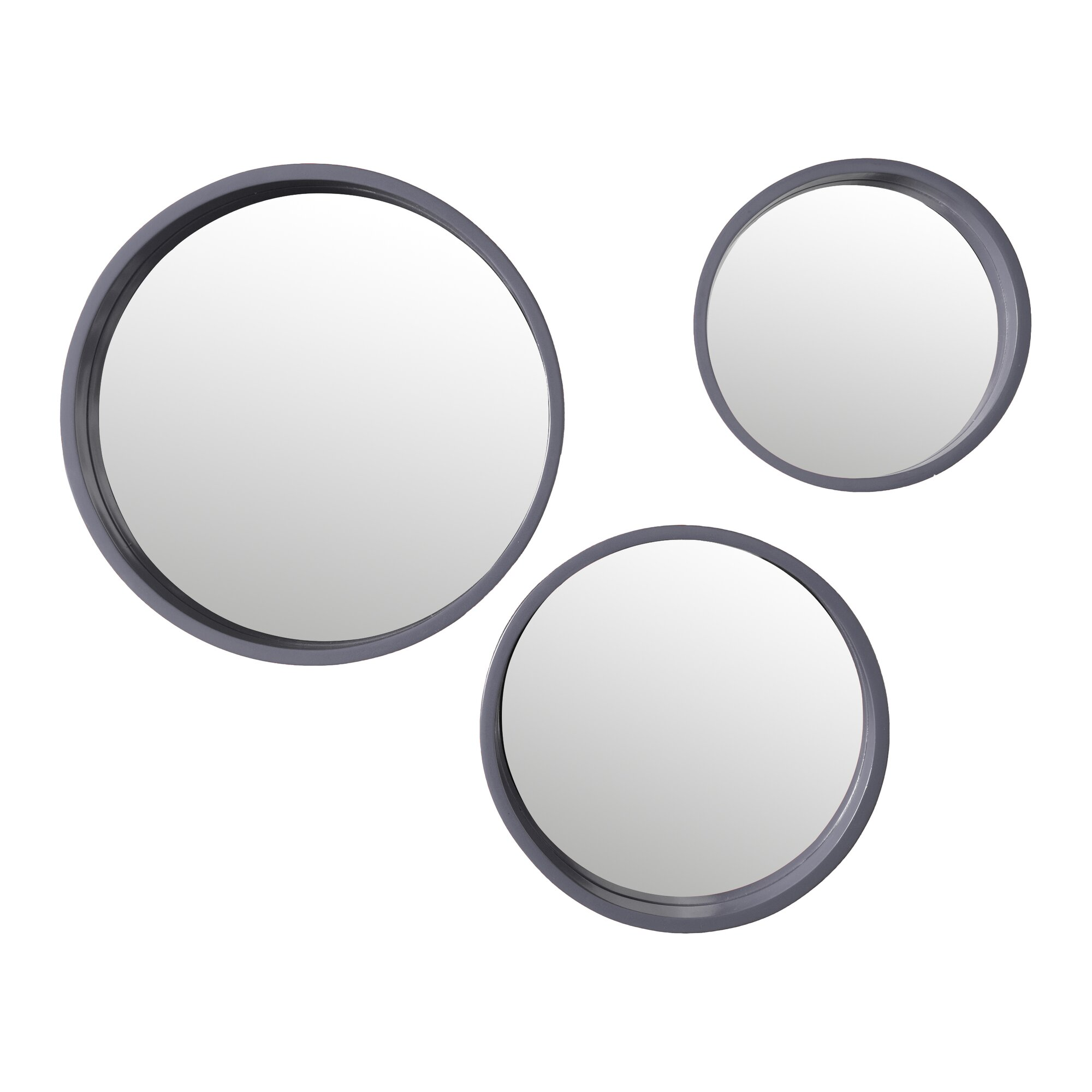 Three Posts 3 Piece Round Wall Mirror Set amp Reviews  : 3PieceRoundWallMirrorSet from www.wayfair.ca size 2000 x 2000 jpeg 117kB
