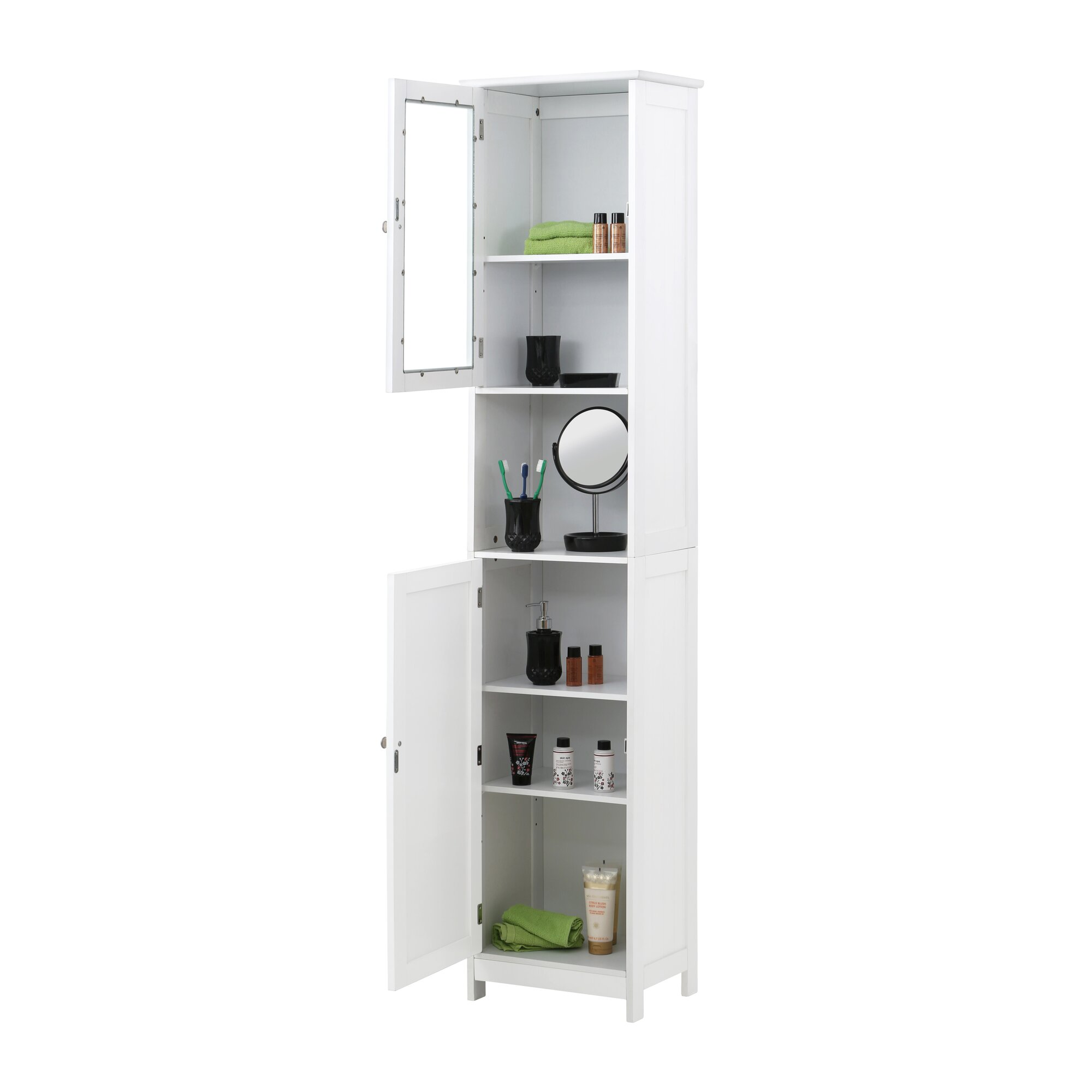 All Home 40 X 189cm Free Standing Tall Bathroom Cabinet Reviews