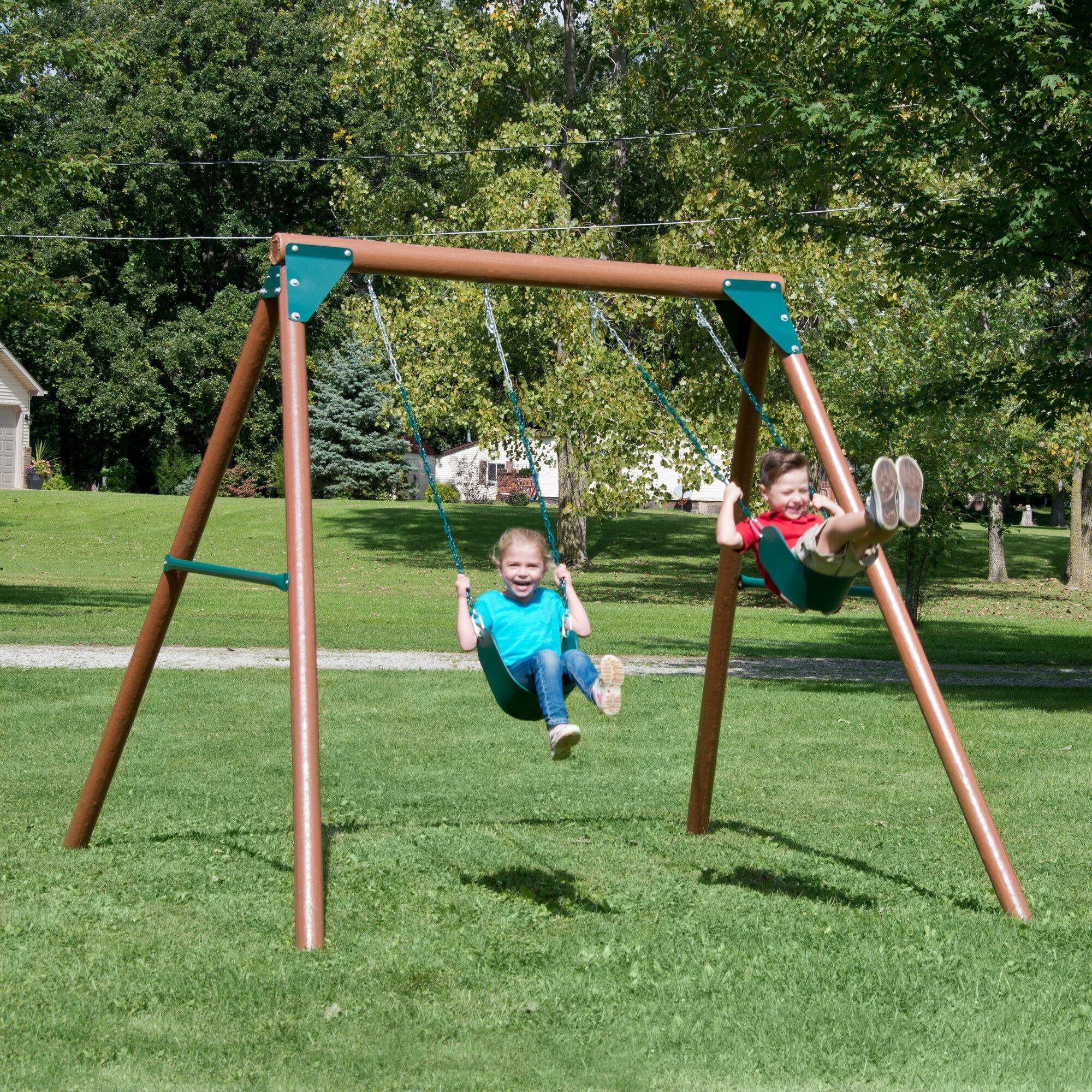 Swing n Slide Equinox Swing Set & Reviews