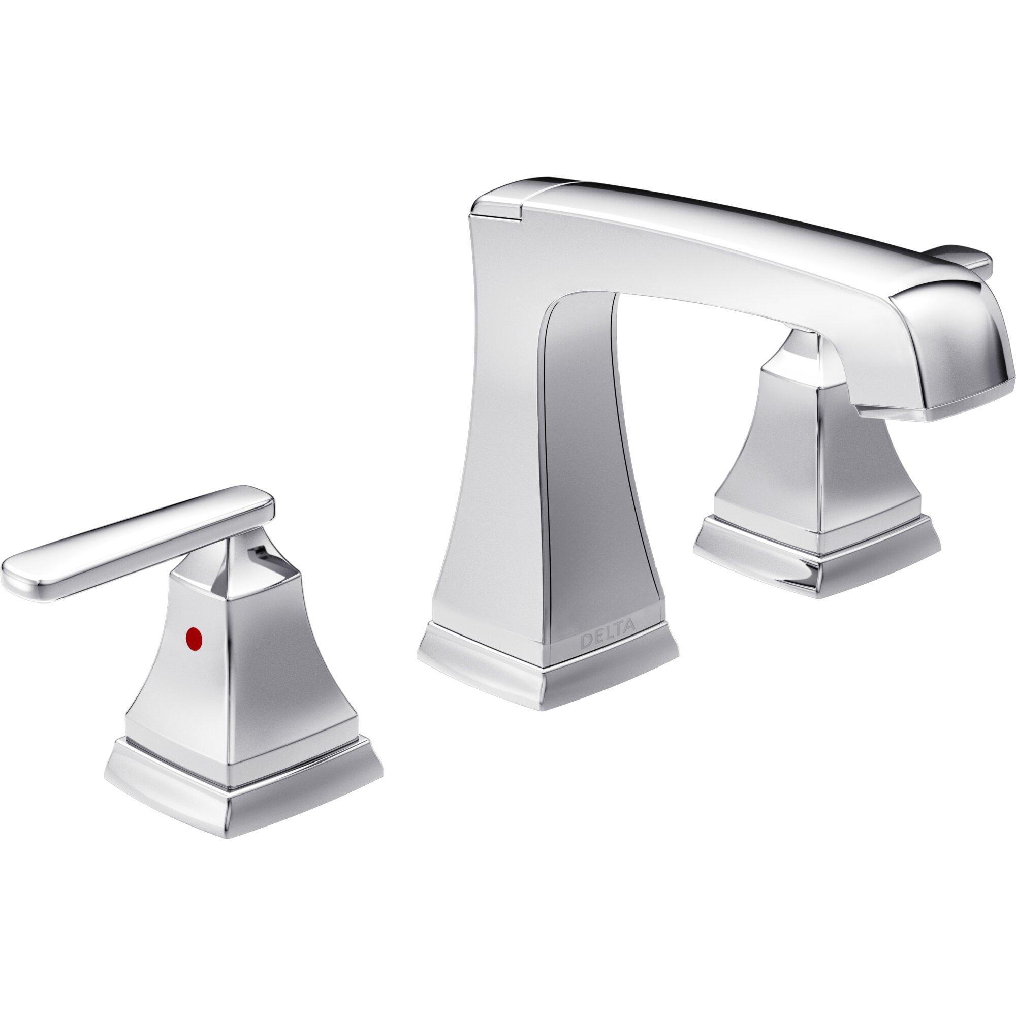 Delta Ashlyn Standard Bathroom Faucet Lever Handle With