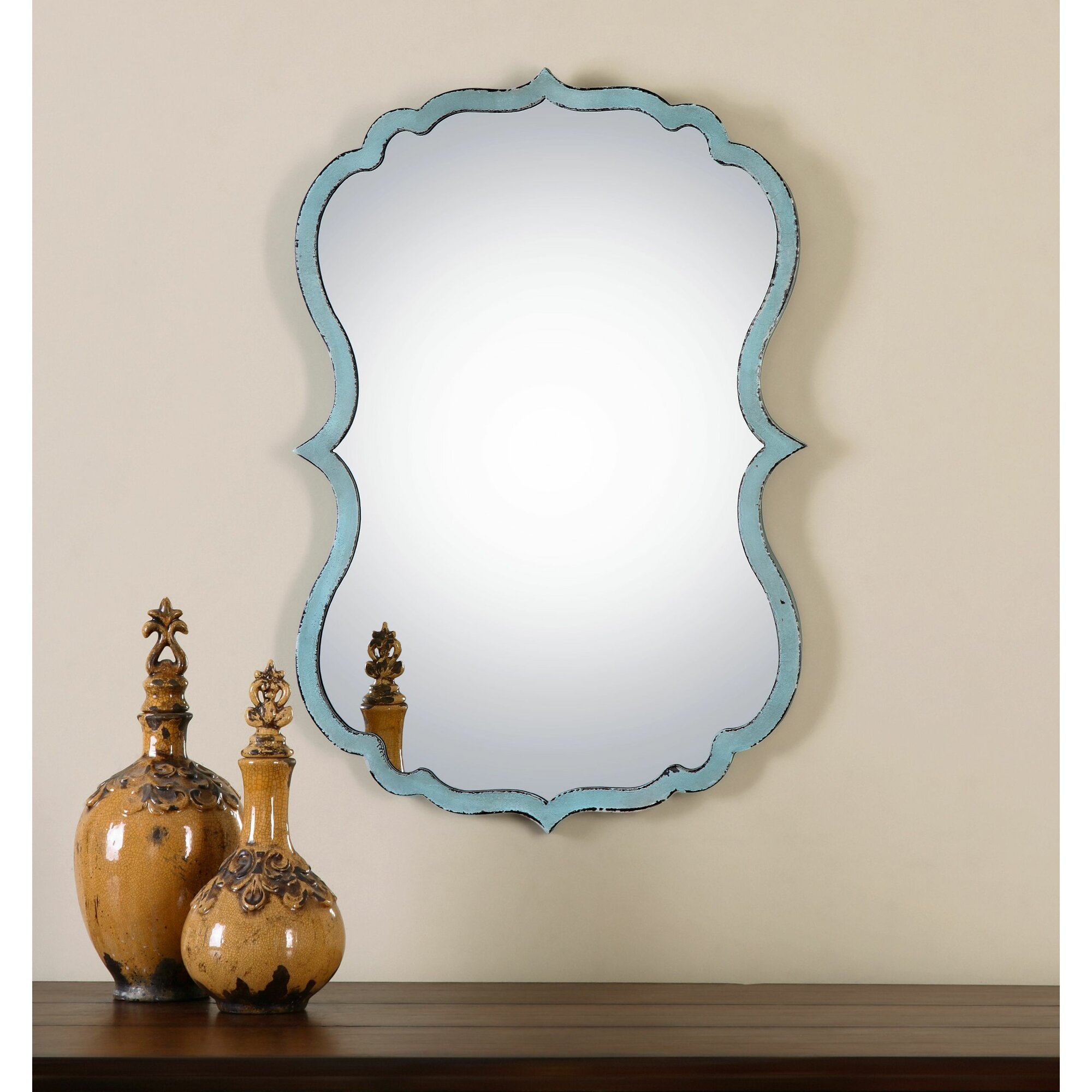 Uttermost Nicola Wall Mirror & Reviews