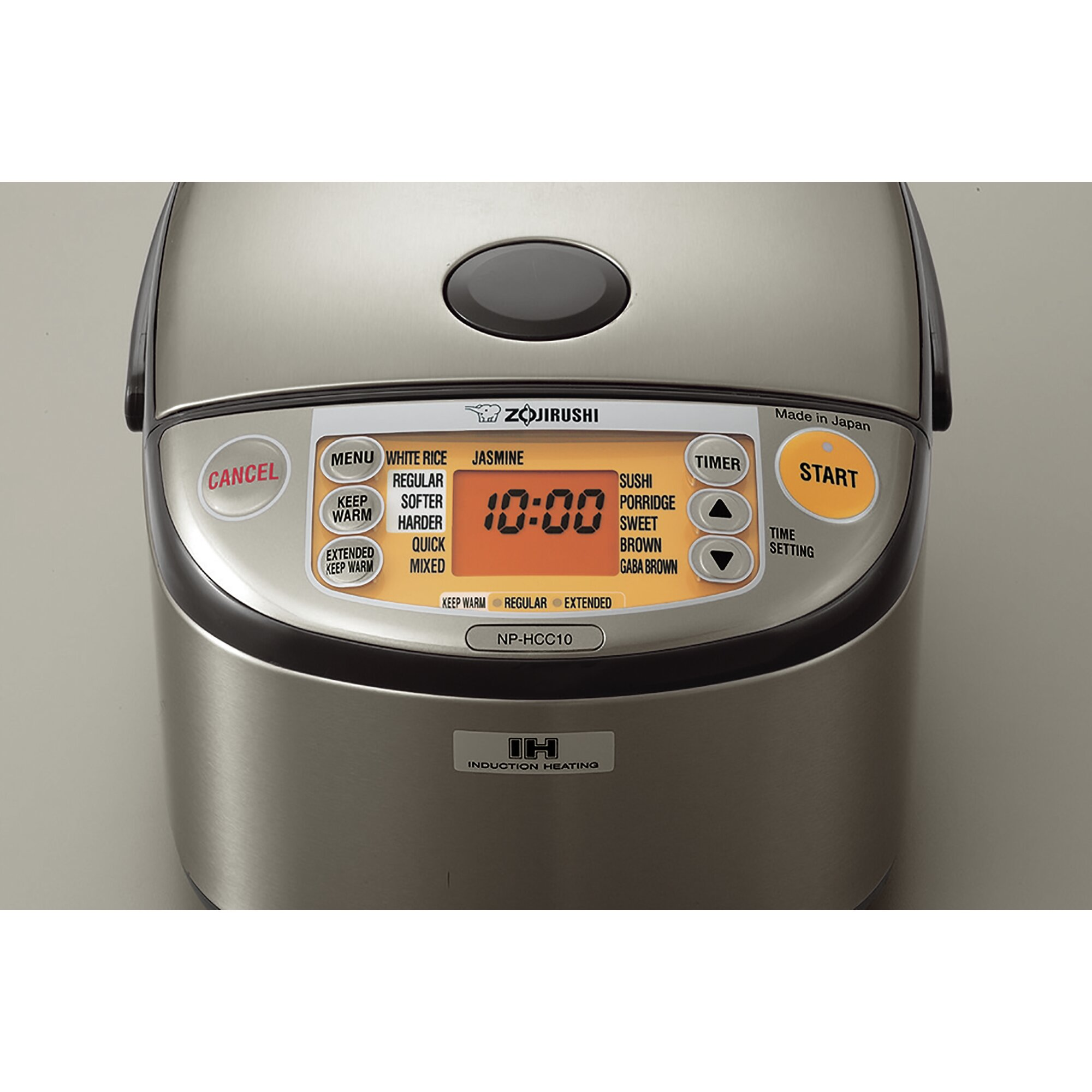 Stainless Induction Heating System Rice Cooker And Warmer Zojirushi  Nsvgc05 How To Cook