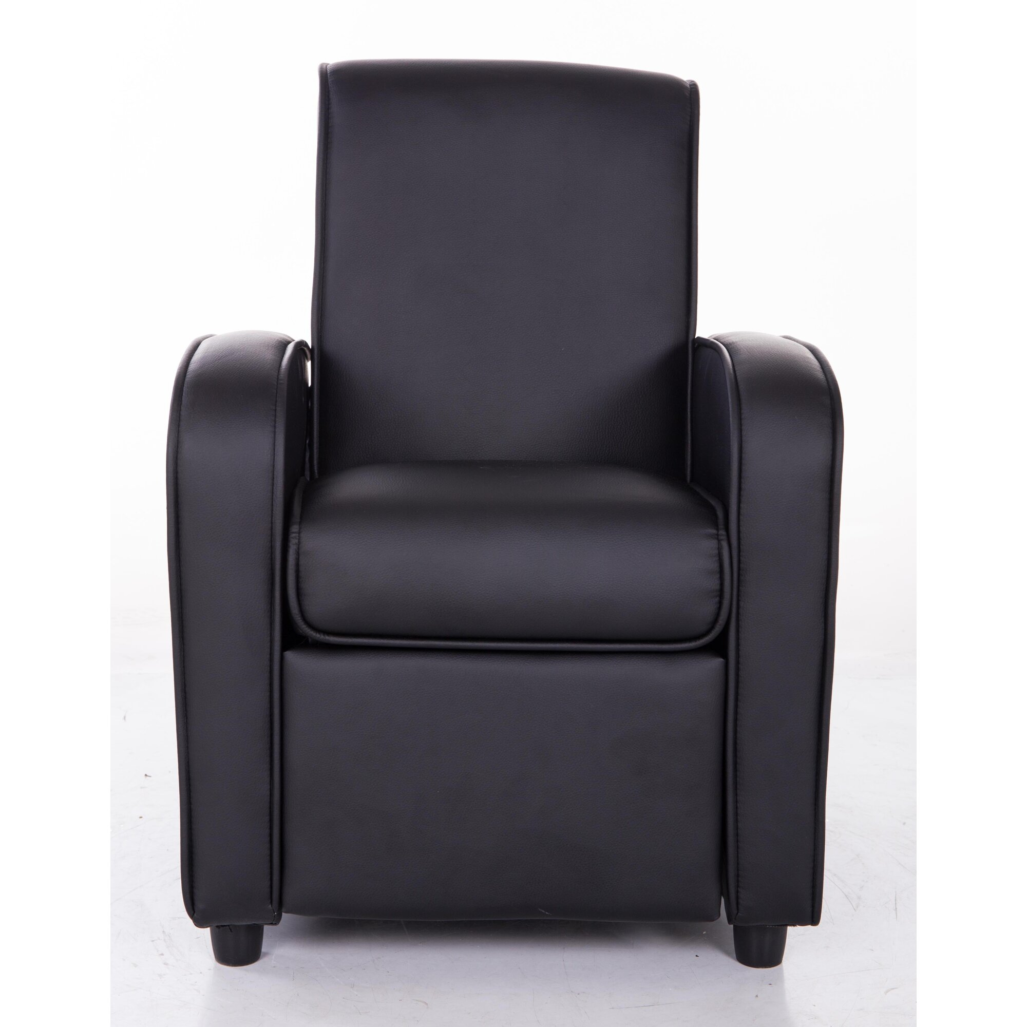Mochi furniture pu leather comfortable kids recliner wayfair - Modern leather recliner that is totally comfortable ...
