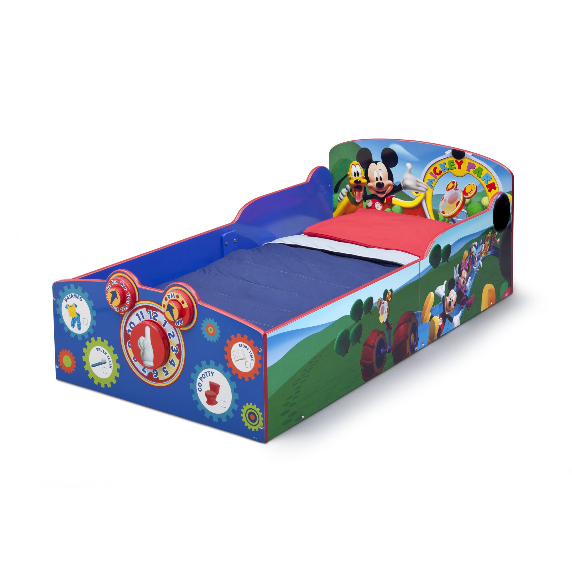 Delta Mickey Mouse D Toddler Bed