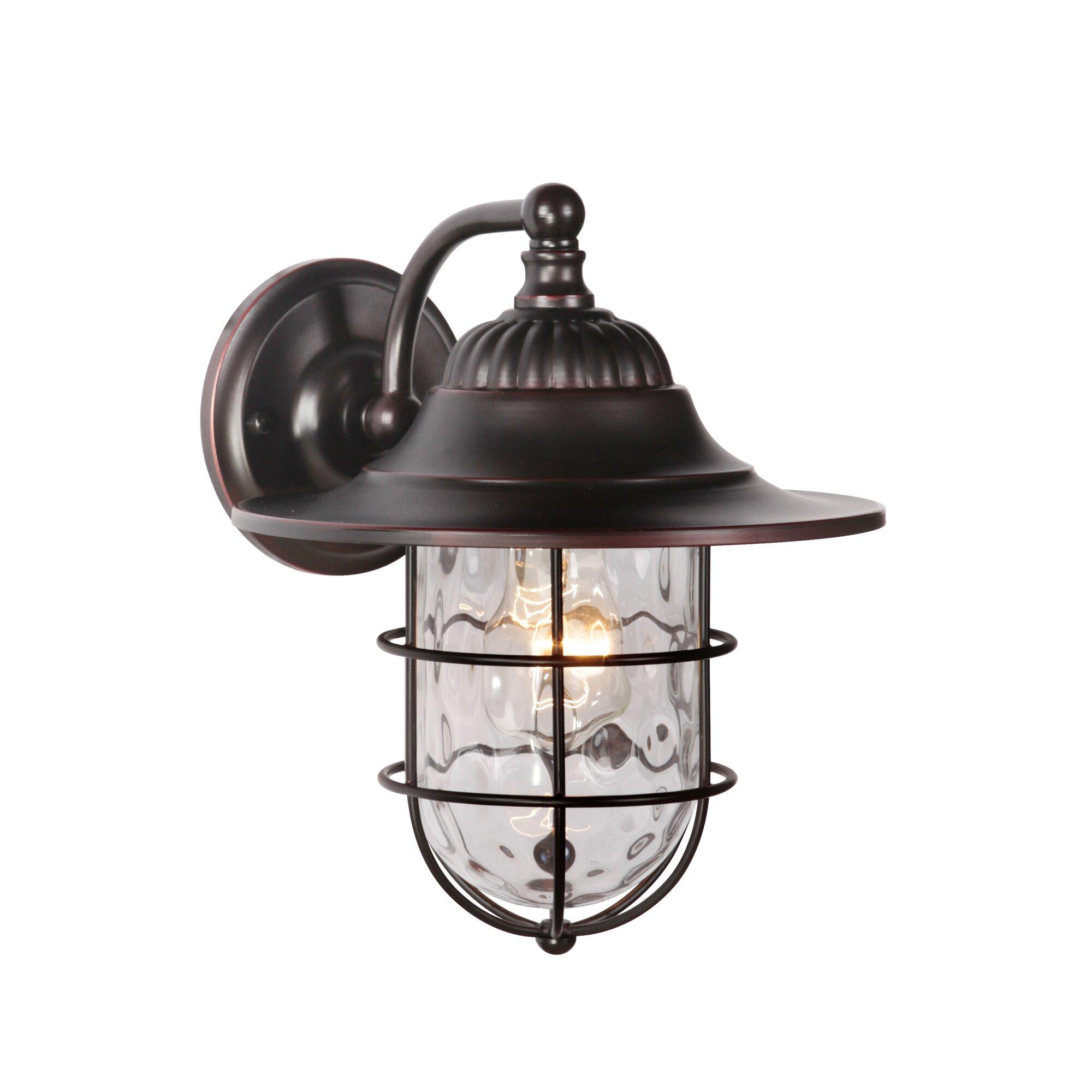 Goodyear 1 Light Outdoor Barn Light: Craftmade Fairmont 1-Light Outdoor Barn Light & Reviews