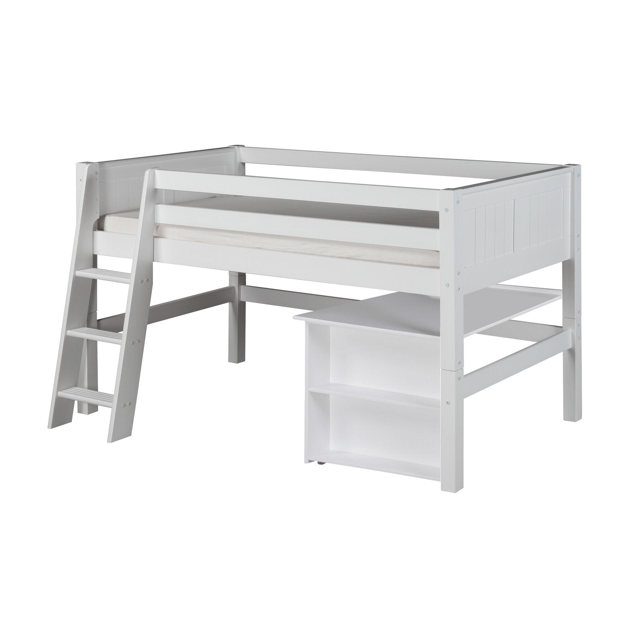 Camaflexi Camaflexi Twin Low Loft Bed Amp Reviews Wayfair