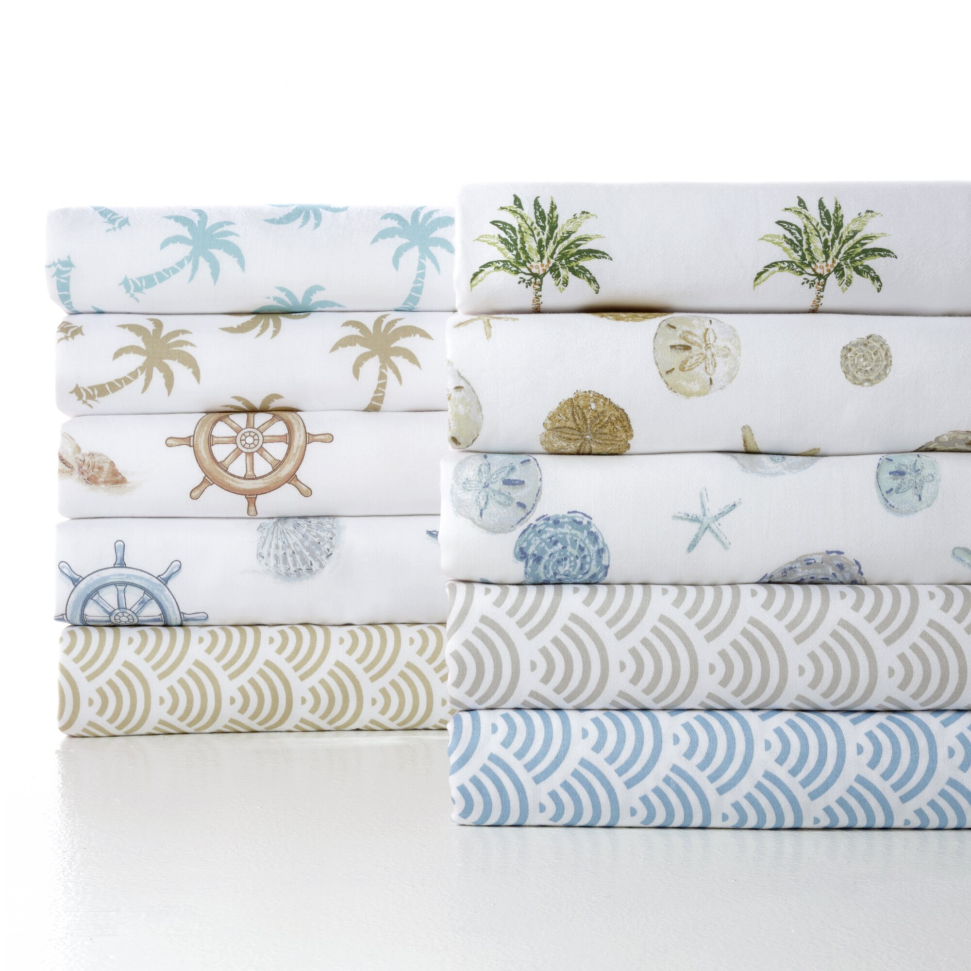 panama jack nautical 300 thread count cotton sheet set reviews wayfair. Black Bedroom Furniture Sets. Home Design Ideas