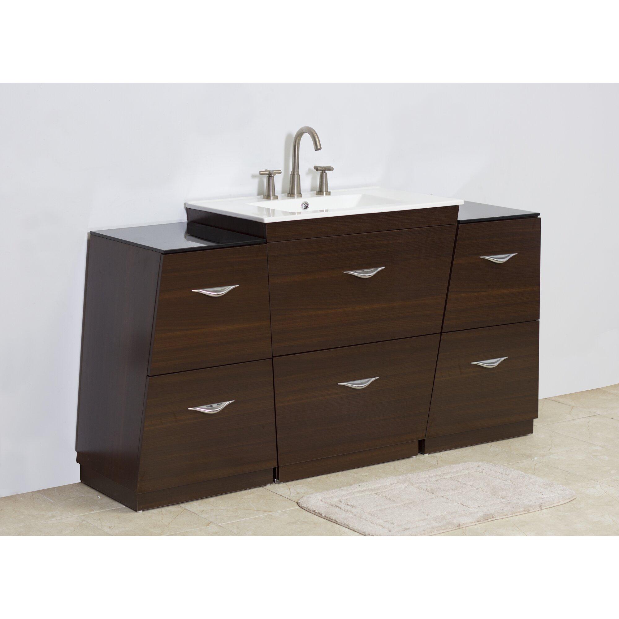 American Imaginations 60 Single Modern Bathroom Vanity Set Reviews Wayfair