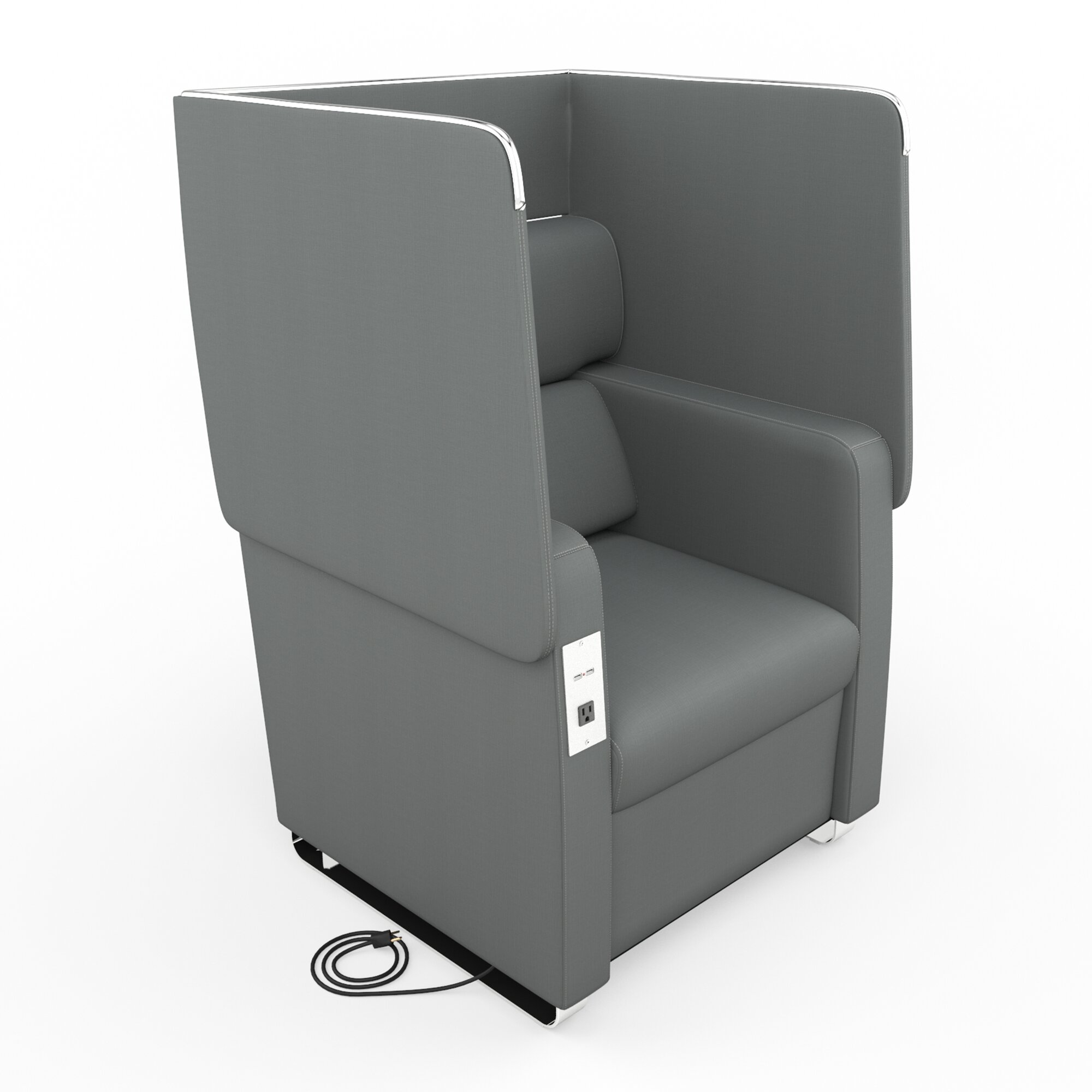 Convertible Armchair: OFM Morph Series Soft Seating Convertible Chair