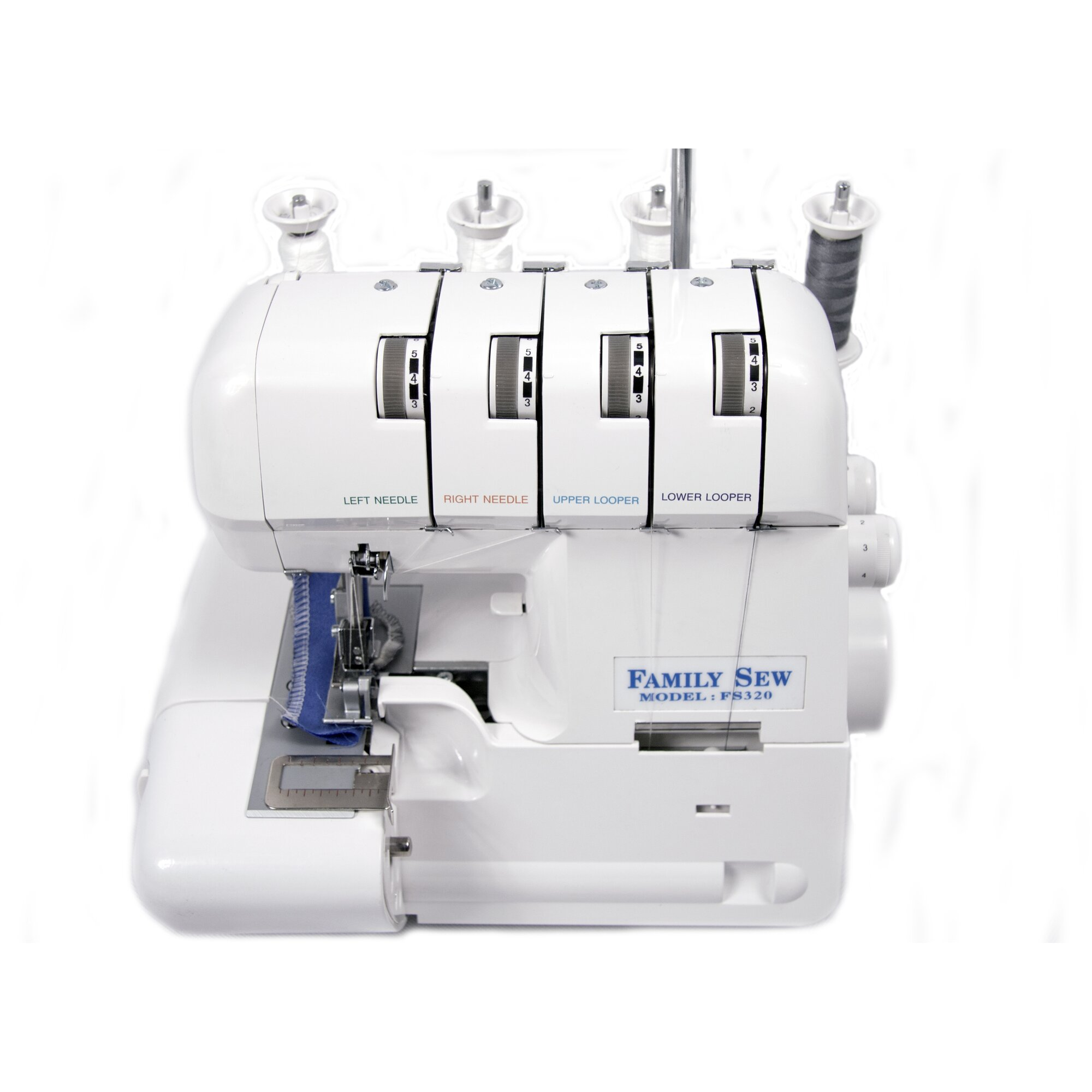 sewing machine with overlock