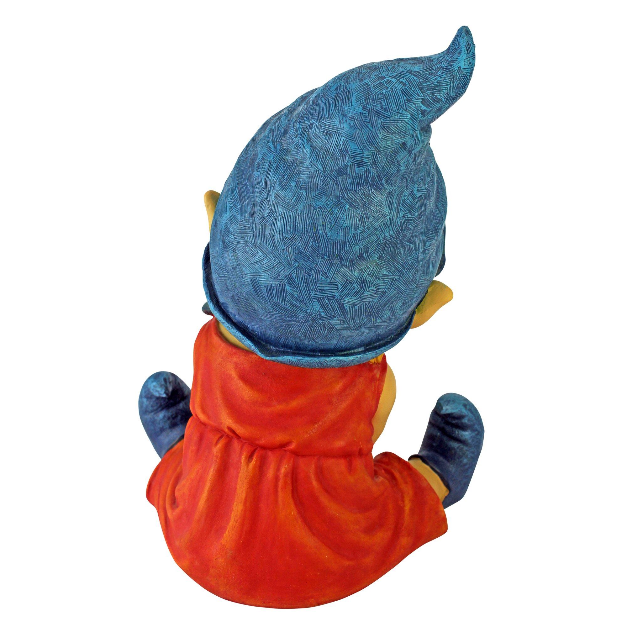 Baby Gnome: Design Toscano Archibald The Baby Gnome Statue & Reviews